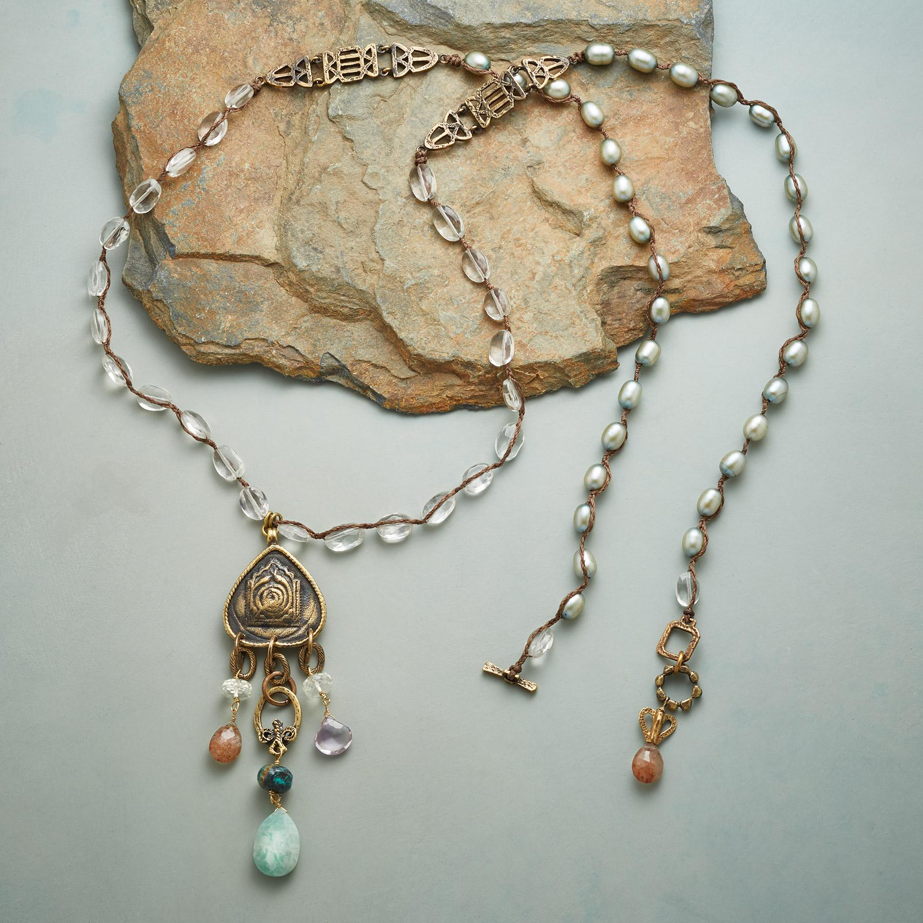 TEMPLE TREASURES NECKLACE: View 2