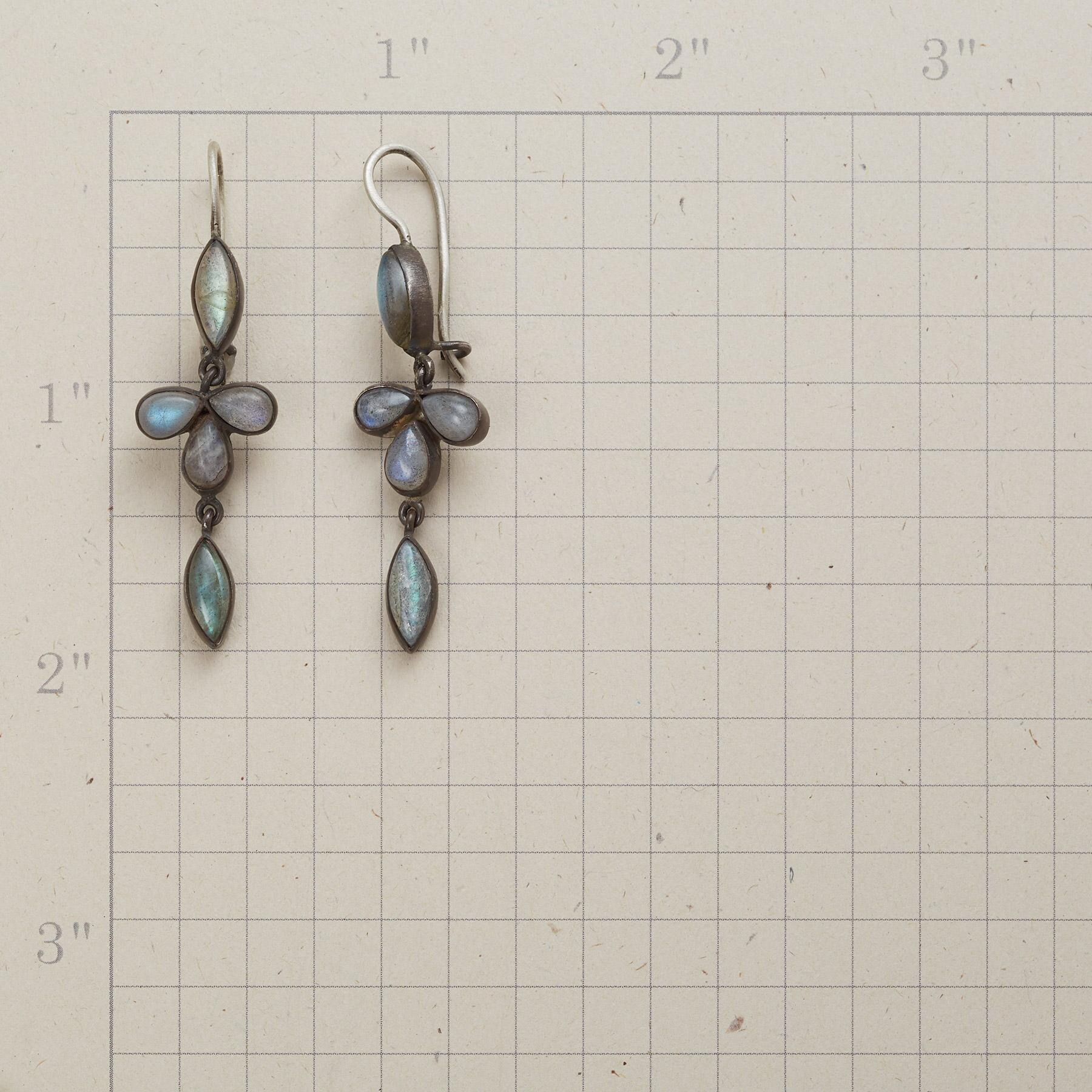 TALLULAH DANGLE EARRINGS: View 2