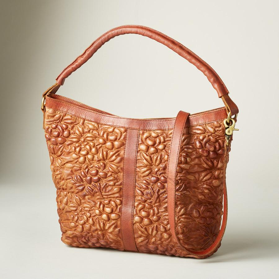 PRESSED FLOWER SATCHEL
