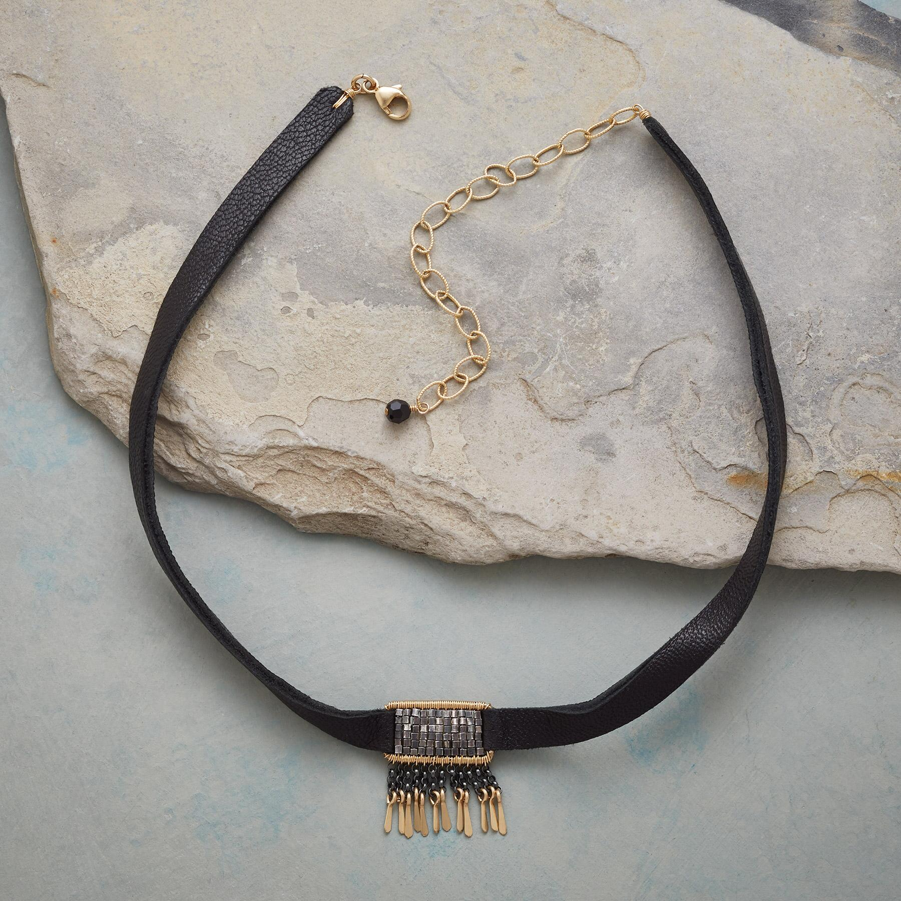 MIDNIGHT SKIES CHOKER: View 2