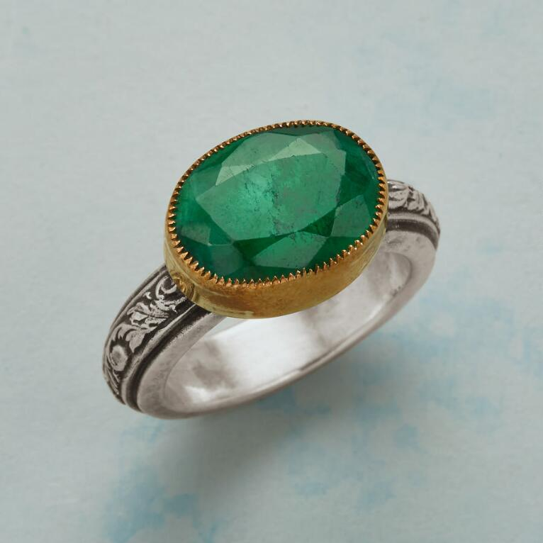 EVERMORE EMERALD RING