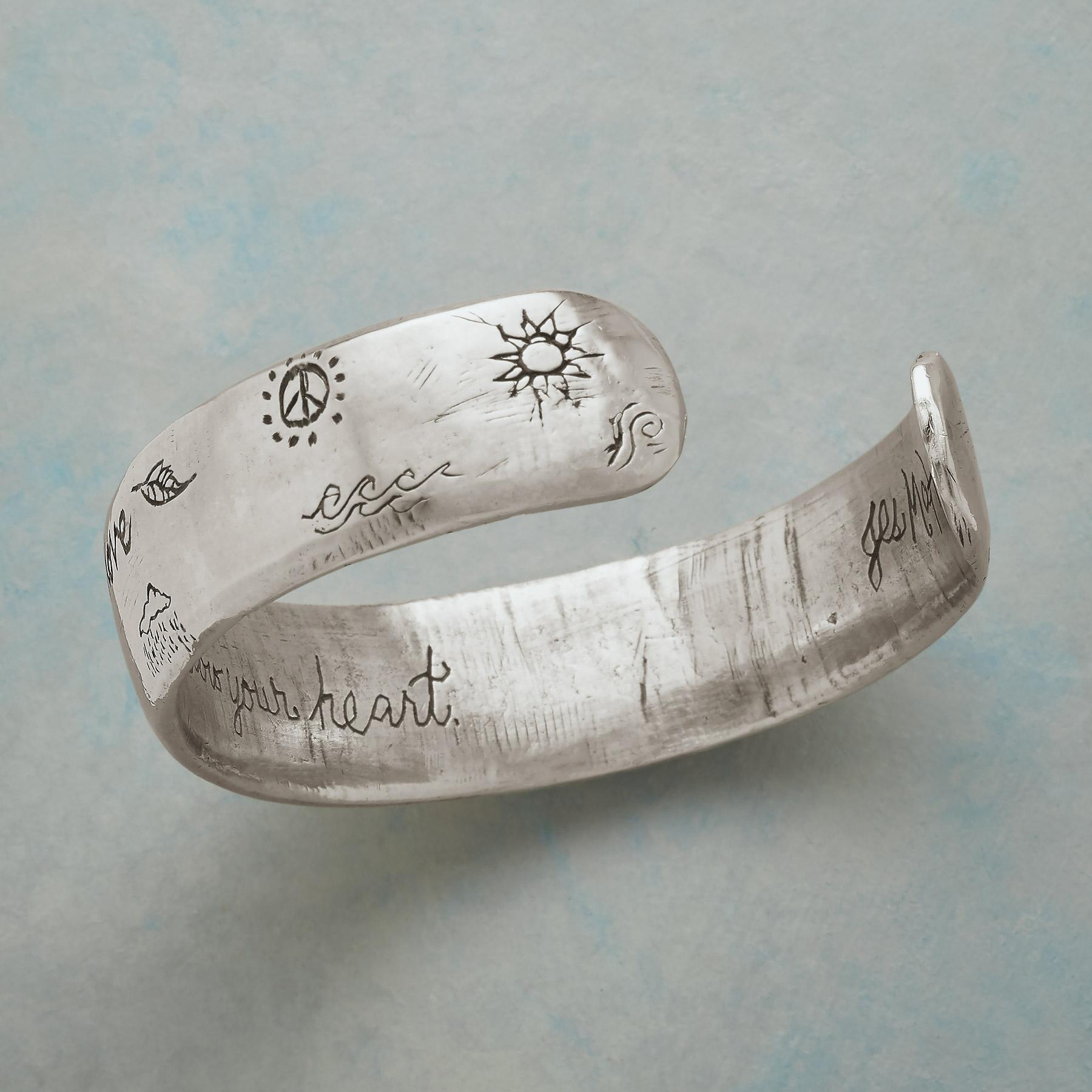 FOLLOW YOUR HEART CUFF: View 3