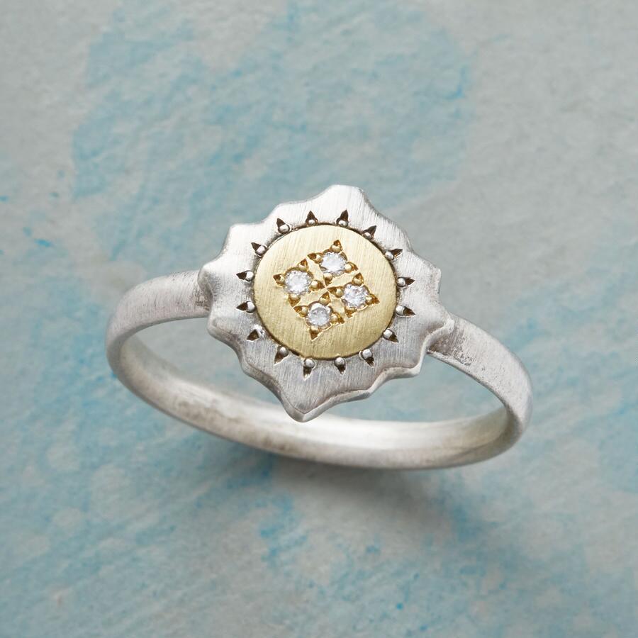 GRACE & STRENGTH DIAMOND RING