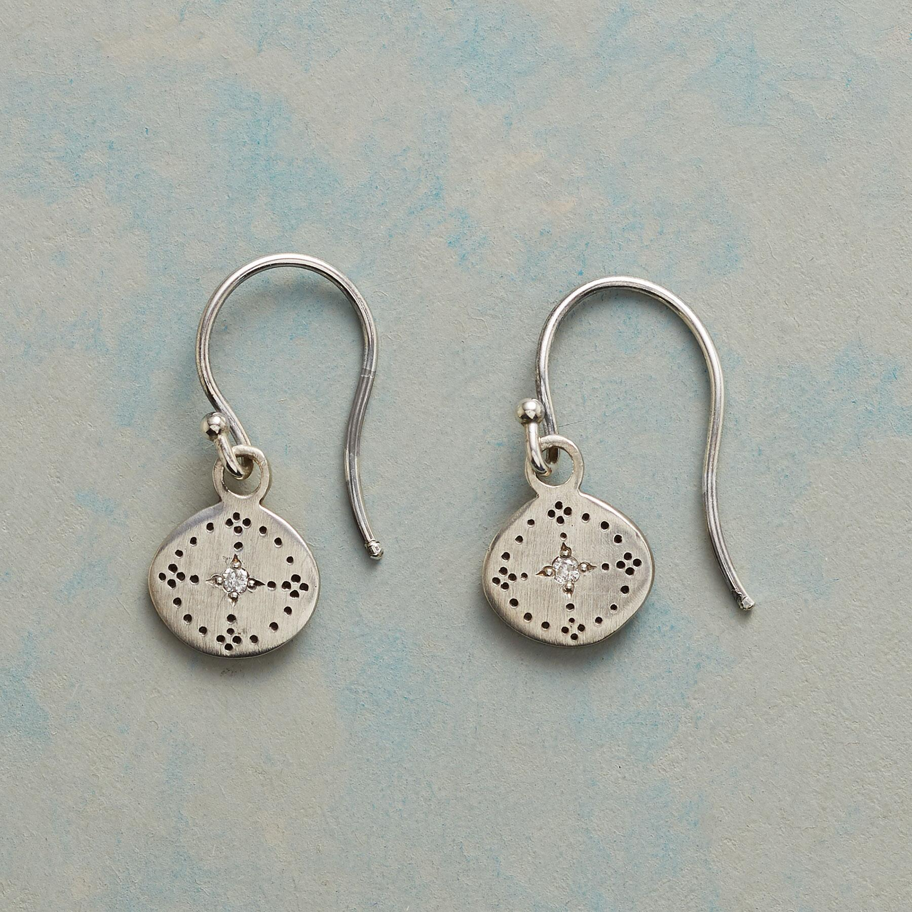 MYTHIC DIAMOND EARRINGS: View 1