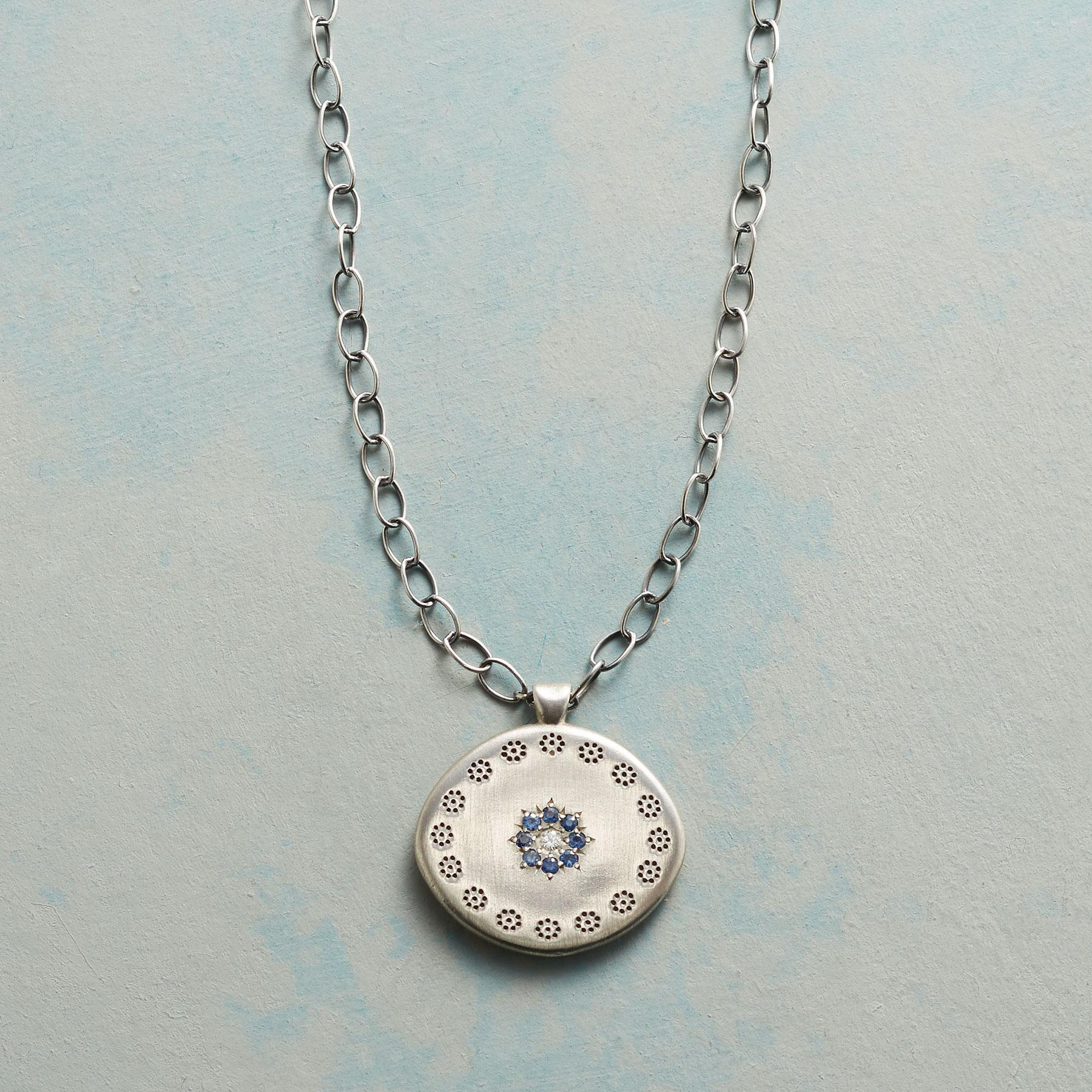 SAPPHIRE STAR NECKLACE: View 1