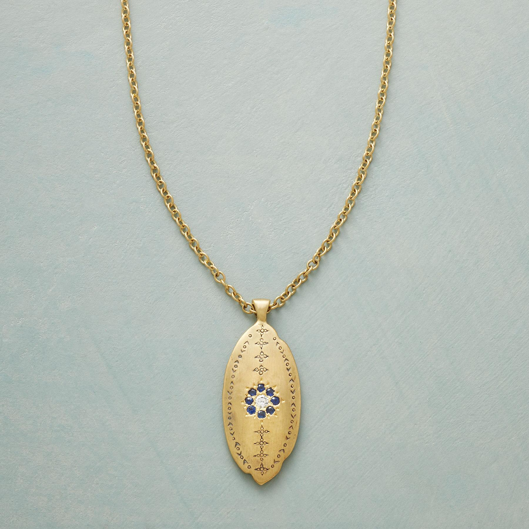 FORGET ME NOT NECKLACE: View 1
