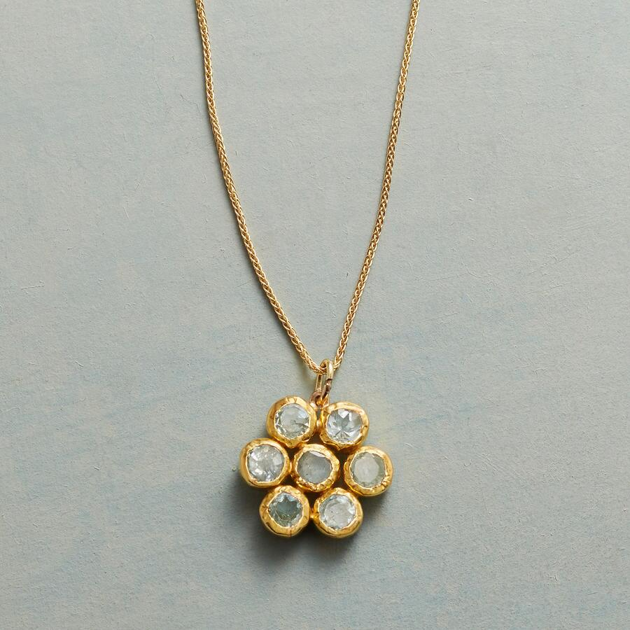 BLEU BLOOM NECKLACE
