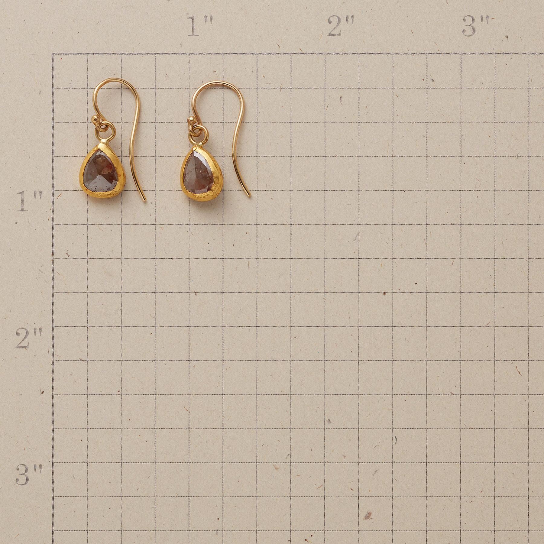 COCO DIAMOND EARRINGS: View 2