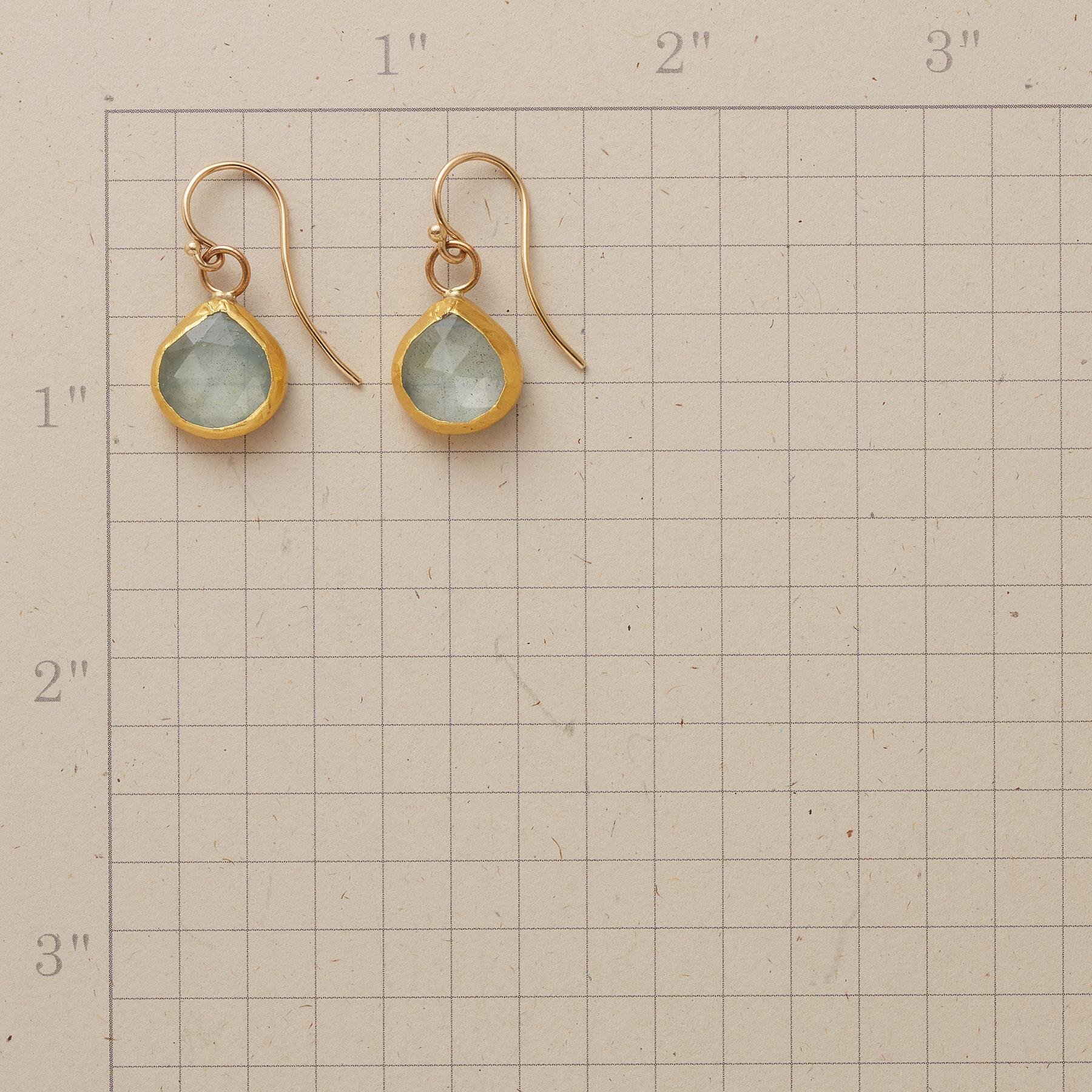 CELESTIAL AQUA EARRINGS: View 2