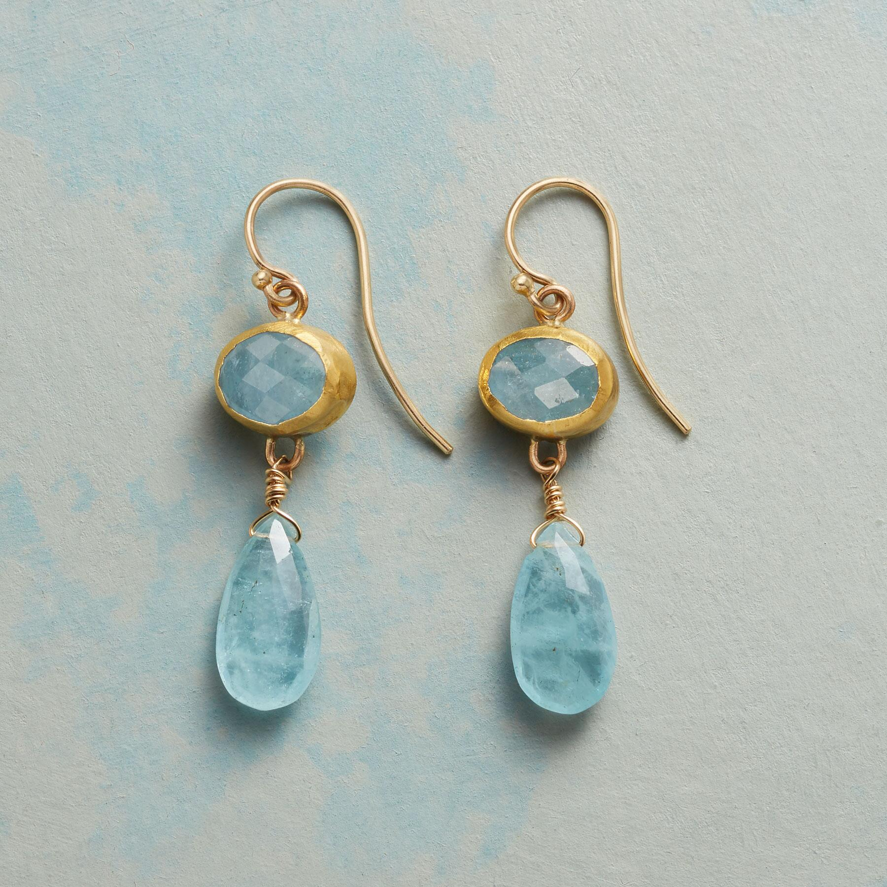 DREAM OF THE SEA EARRINGS: View 1