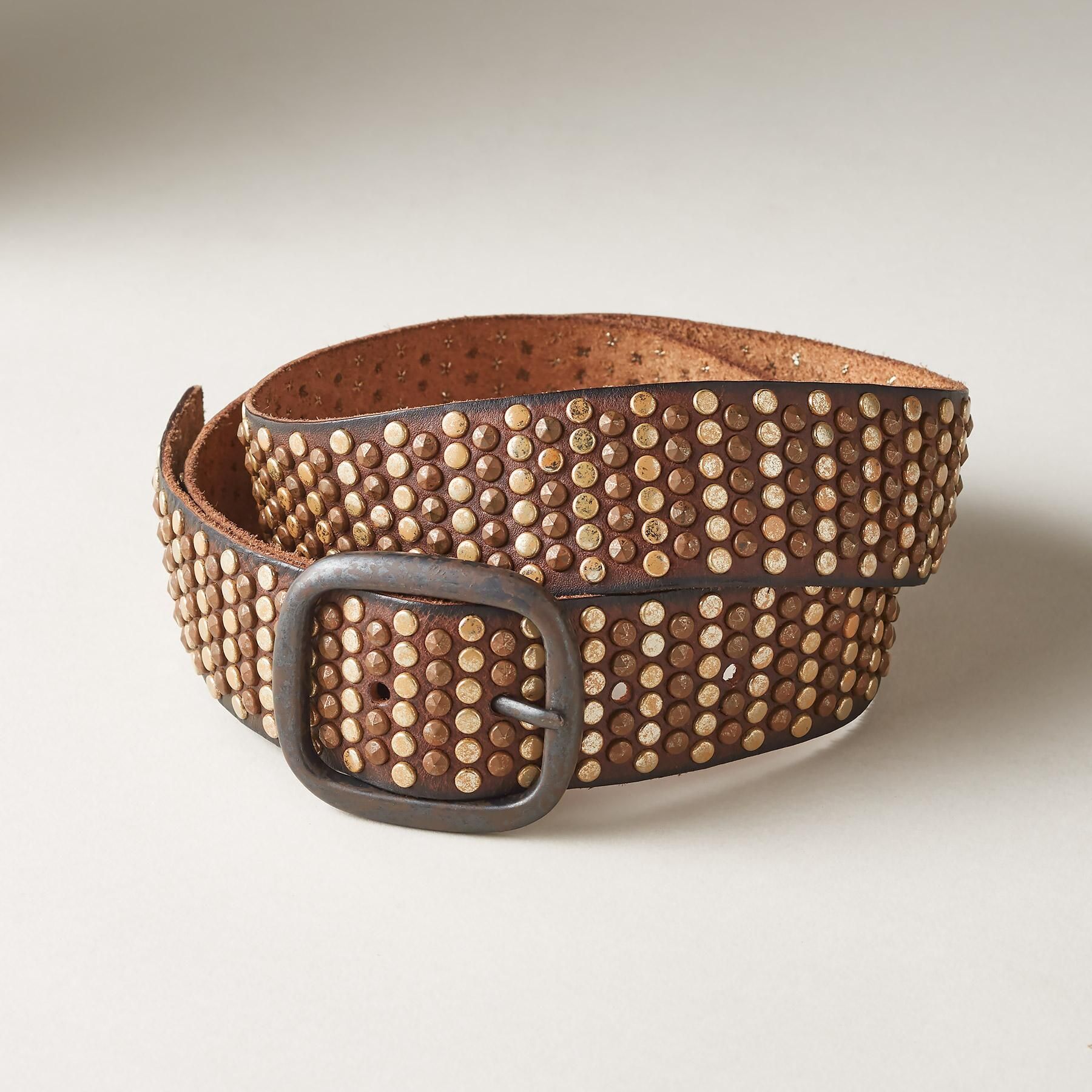 SUNDOWN STUDDED BELT: View 1