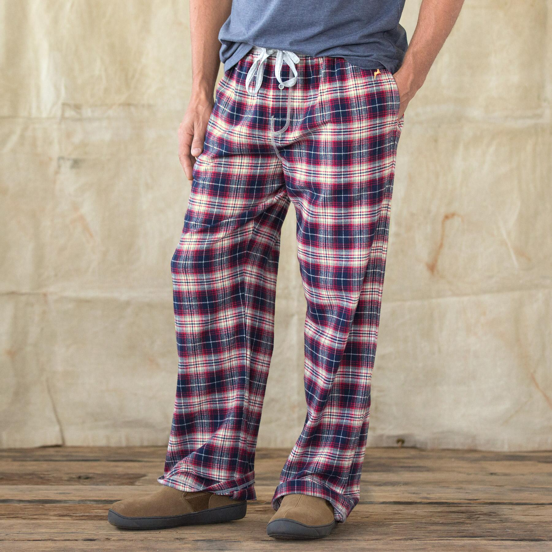 Lazy Days Whiskey Check Pajama Pants Robert Redfords Sundance Catalog