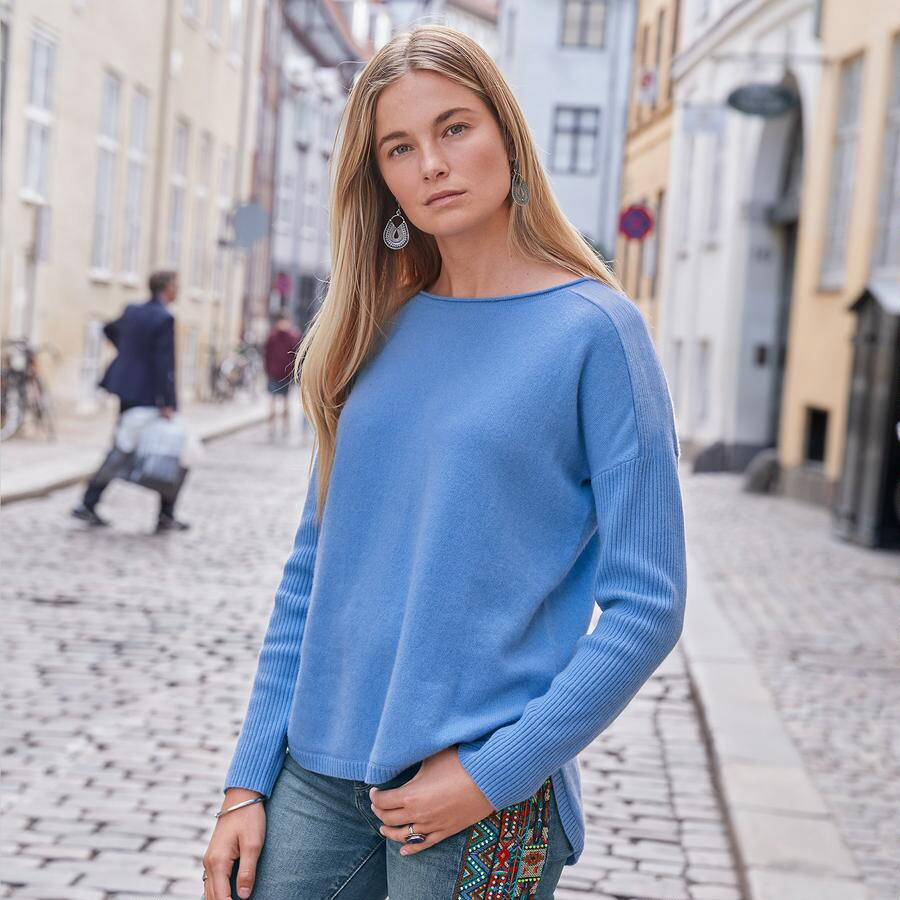 FINLEY CASHMERE PULLOVER