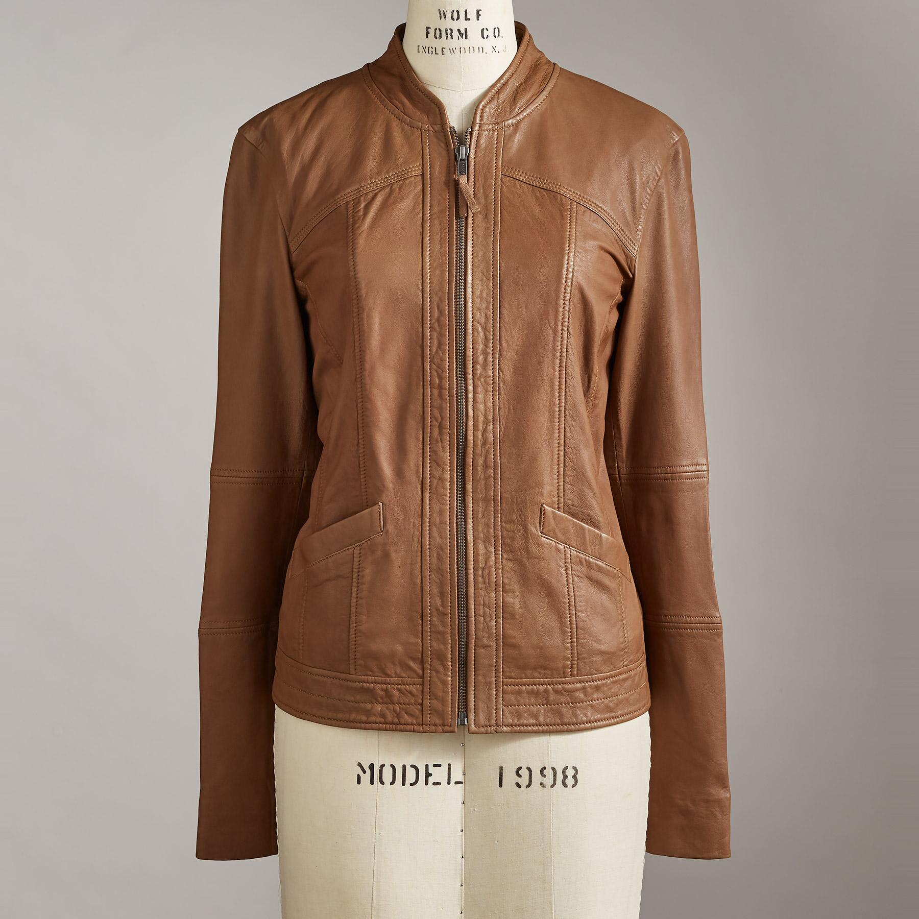 FRISCO LEATHER JACKET: View 2