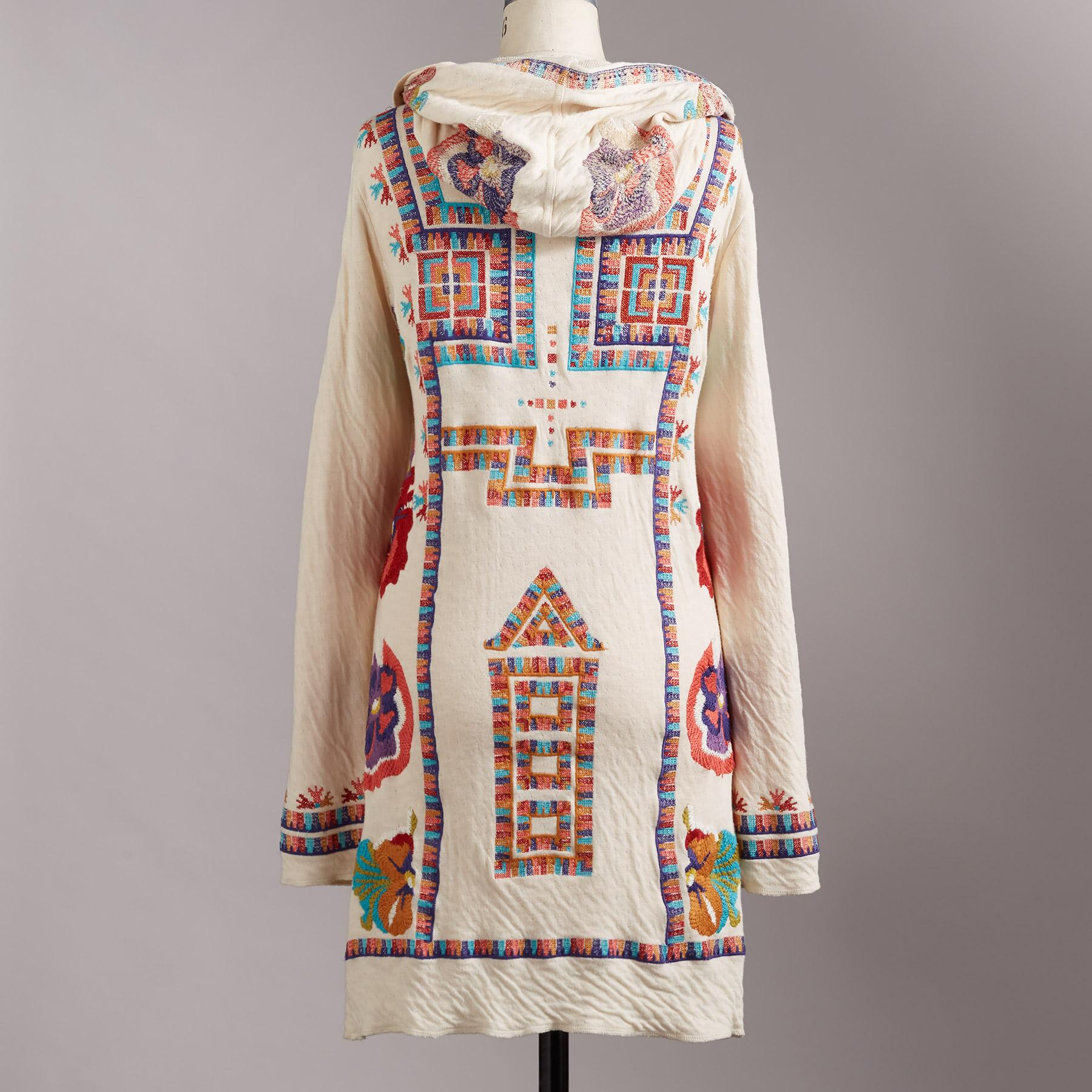 ASHLEE EMBROIDERED JACKET: View 3