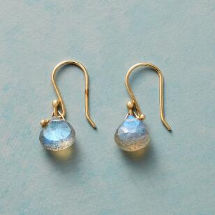 HOOKED LABRADORITE EARRINGS