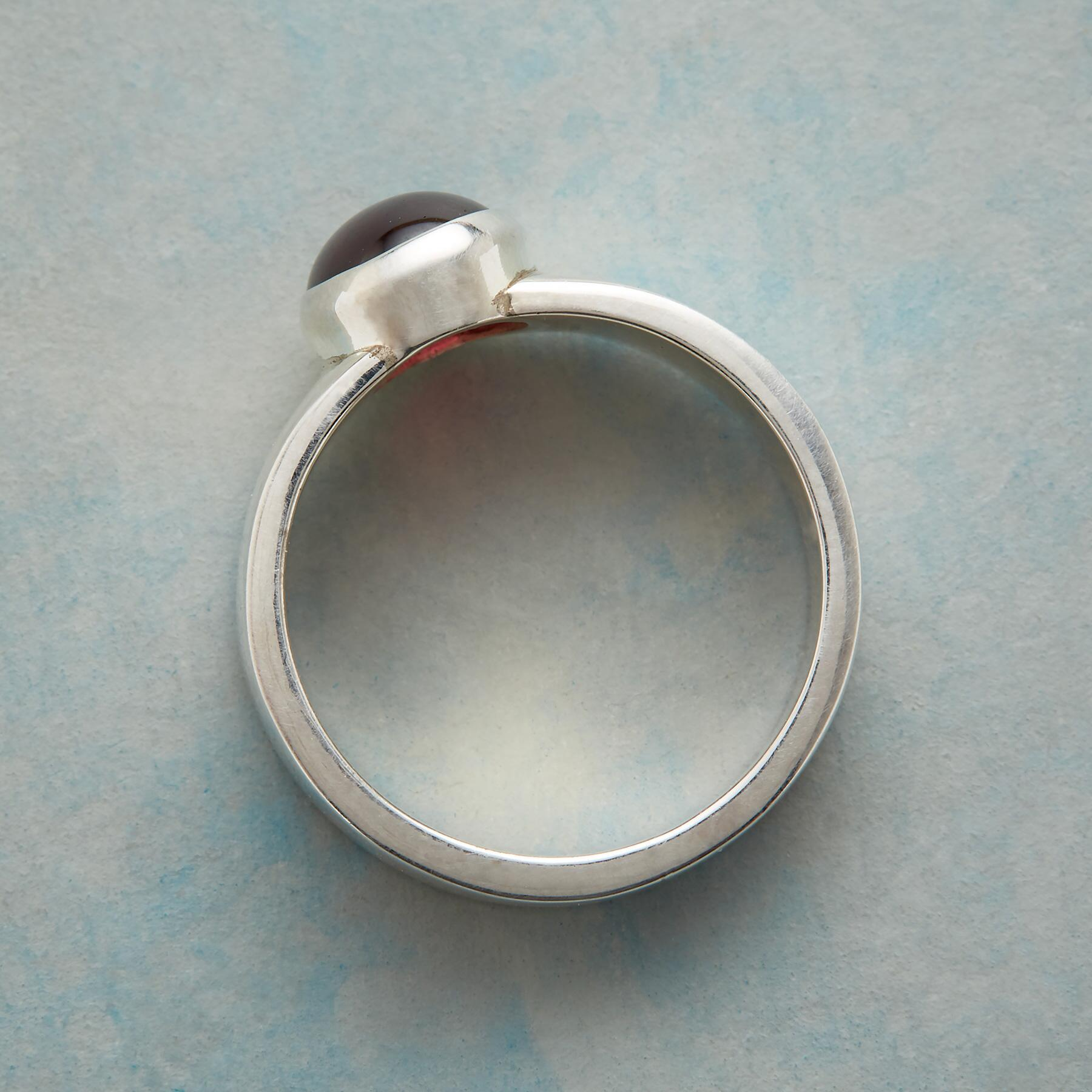 PURELY GARNET RING: View 2