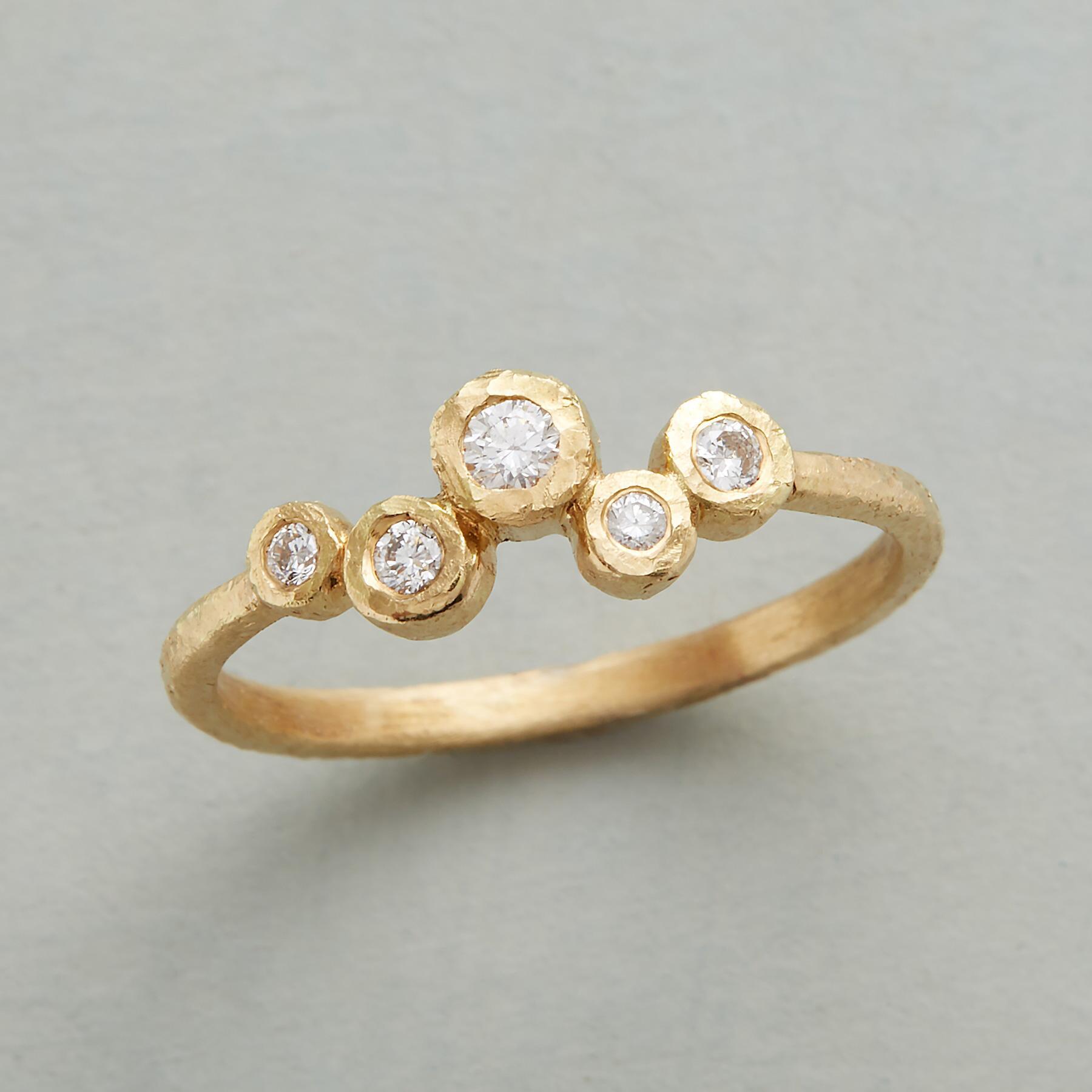 DRIFTING DIAMONDS RING: View 1