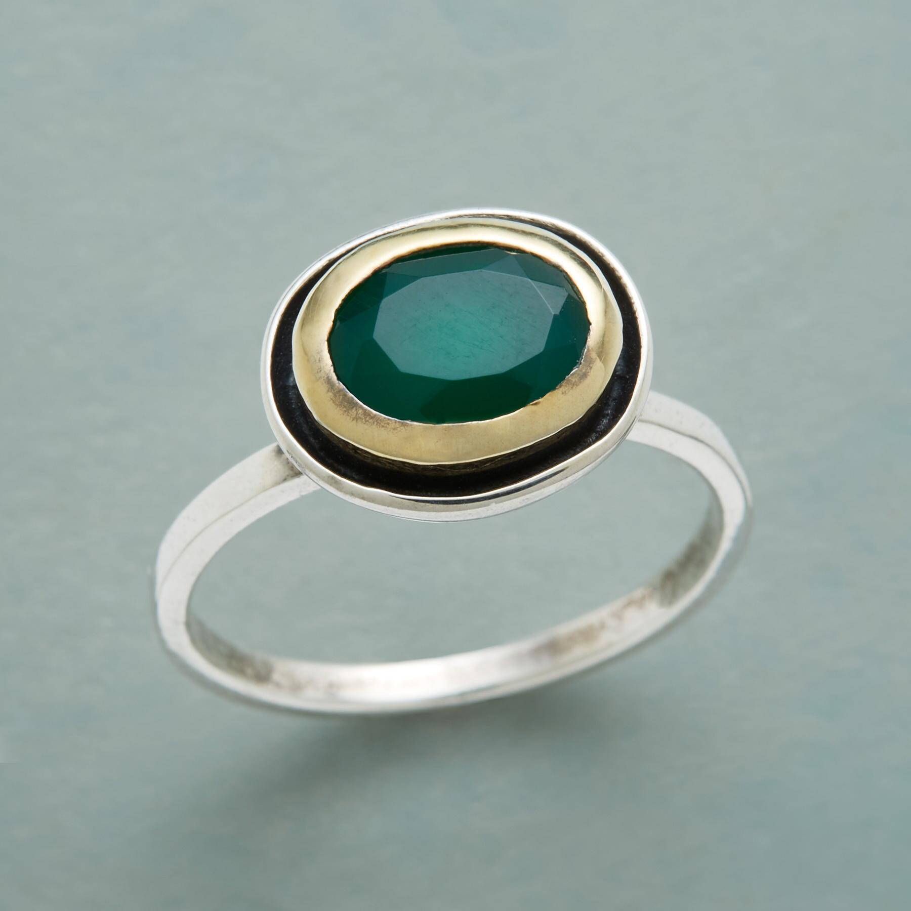 GREEN TEA RING: View 1