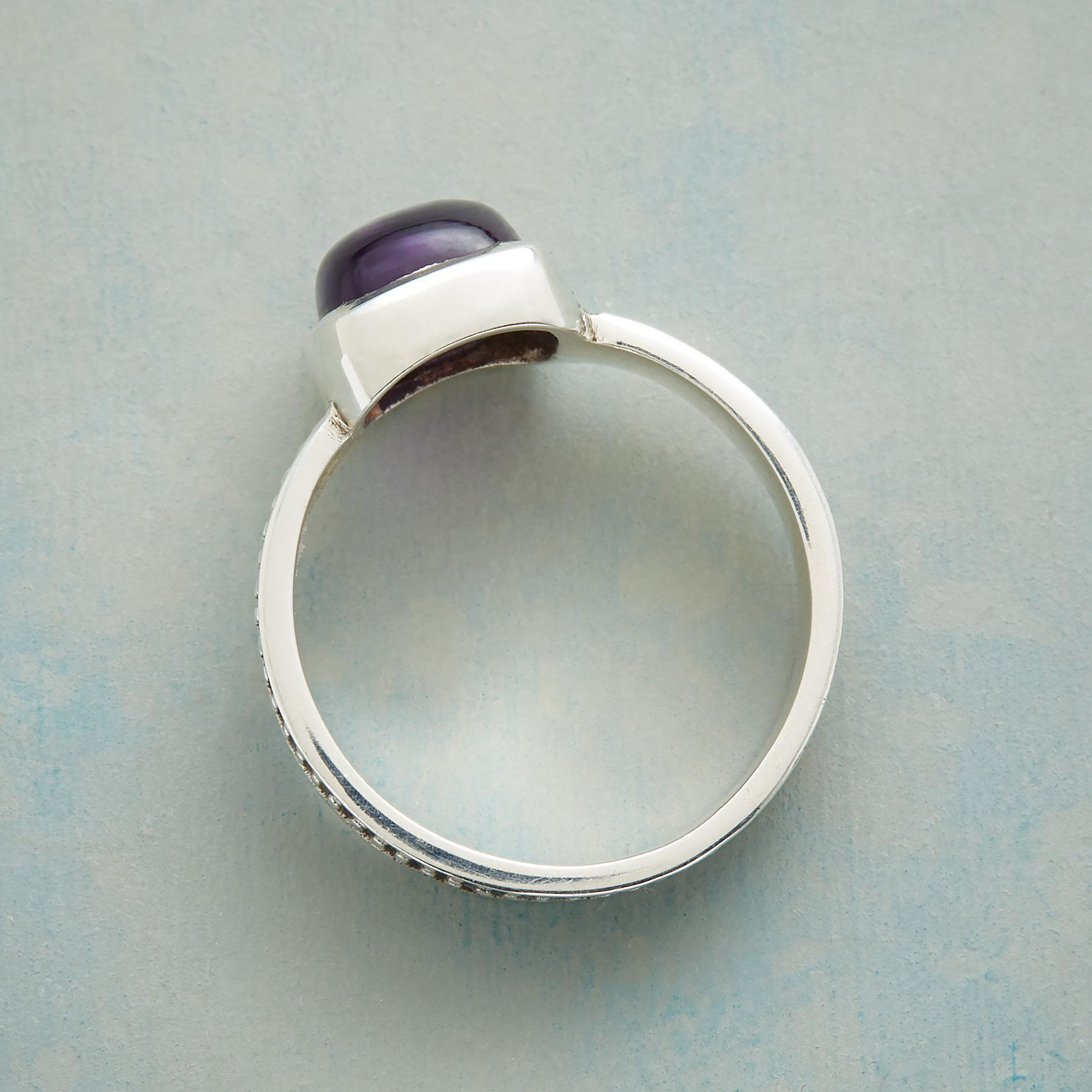 LUSCIOUS LAVENDER RING: View 2