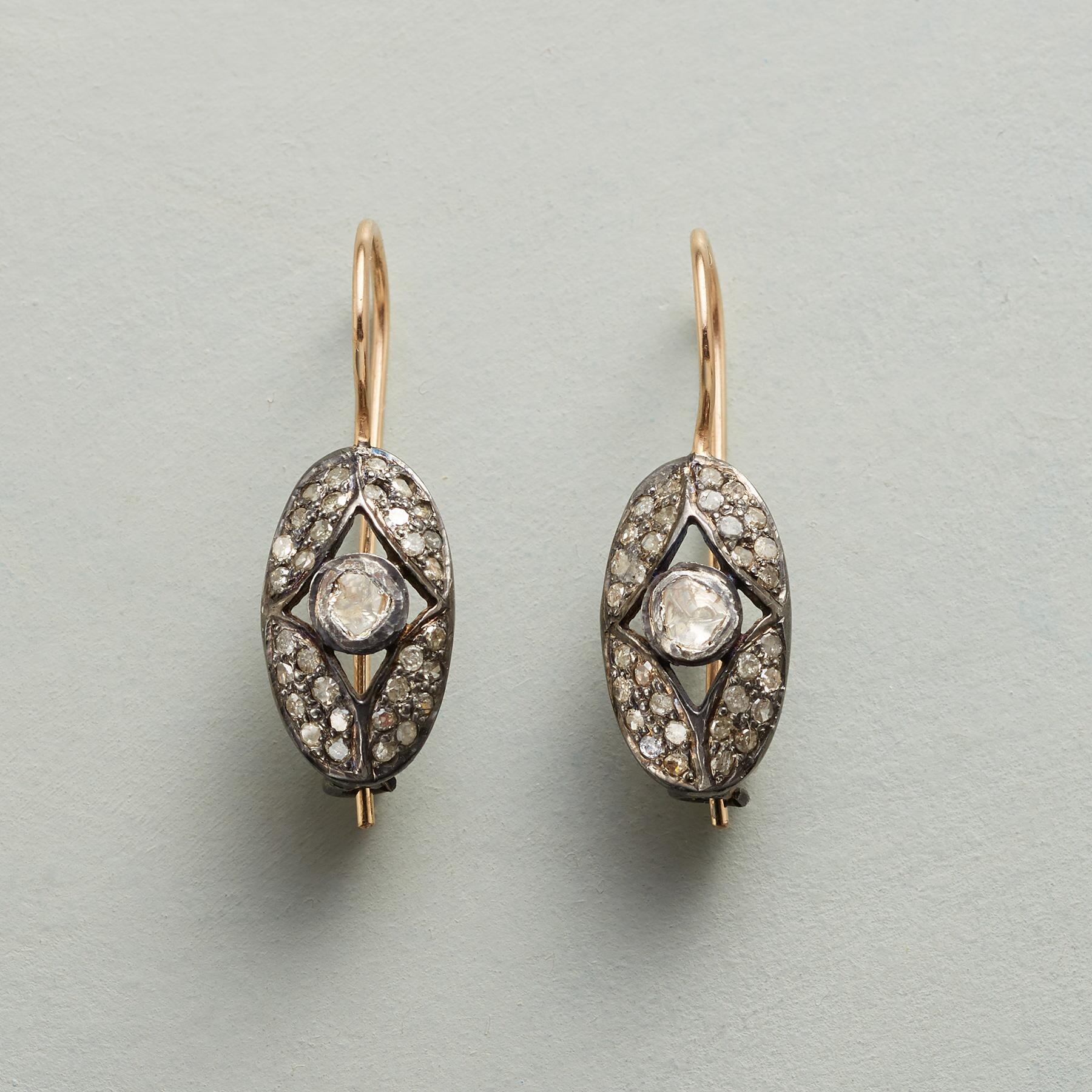 WINDOWS DIAMOND EARRINGS: View 1