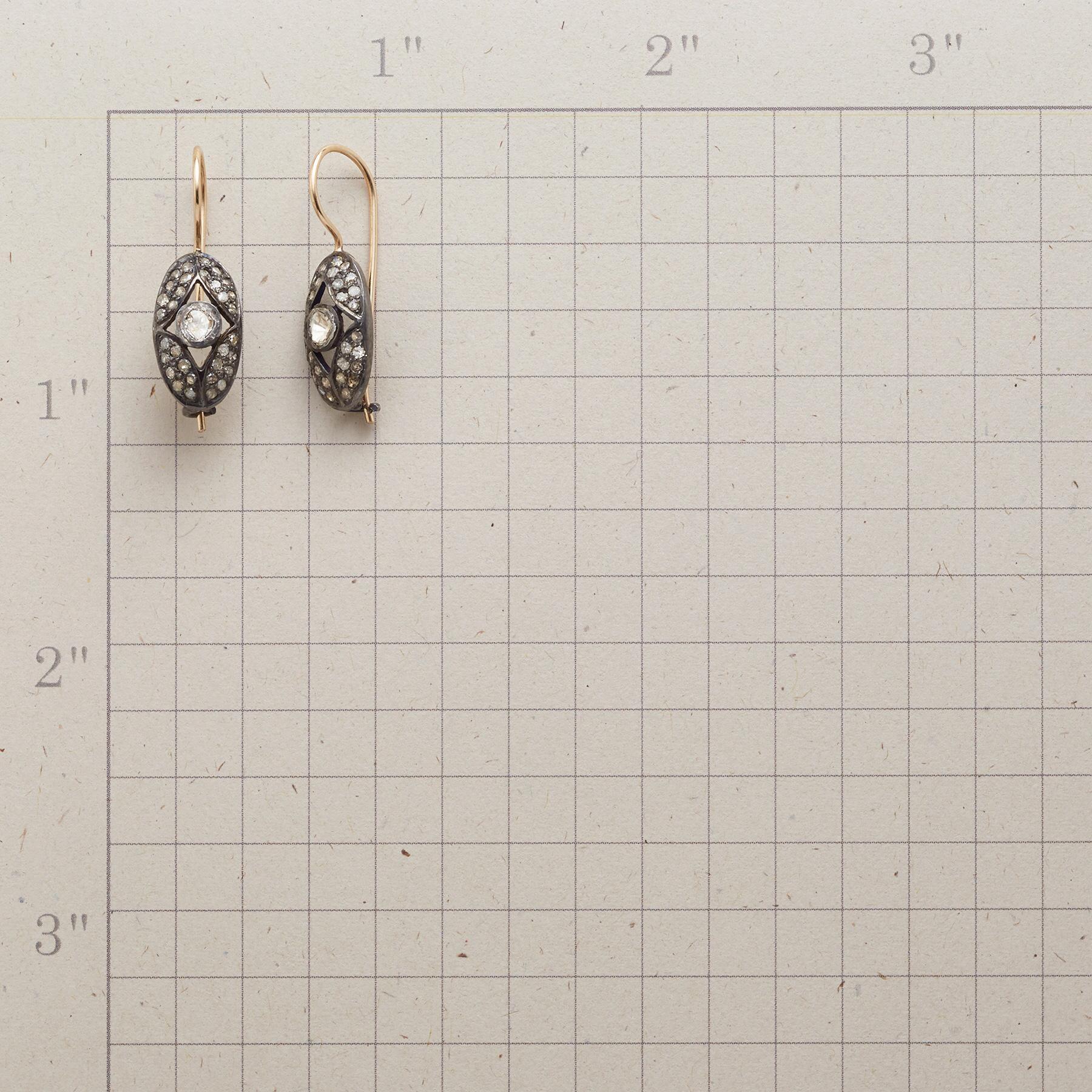 WINDOWS DIAMOND EARRINGS: View 2