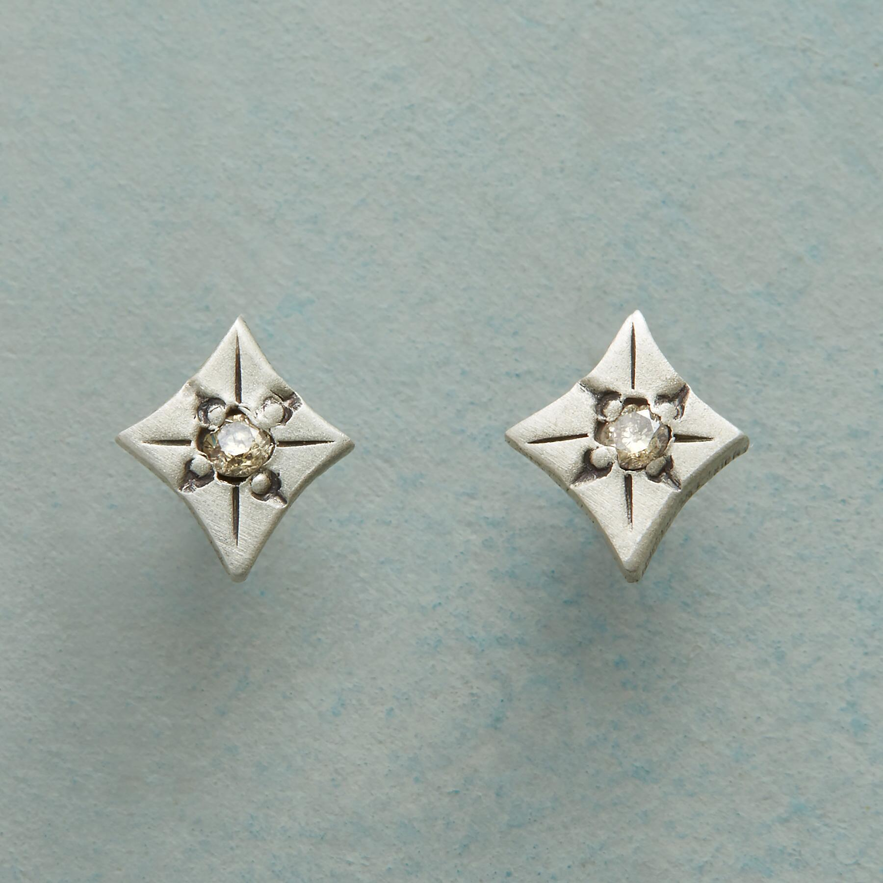 DIAMOND DESTINATION EARRINGS: View 1