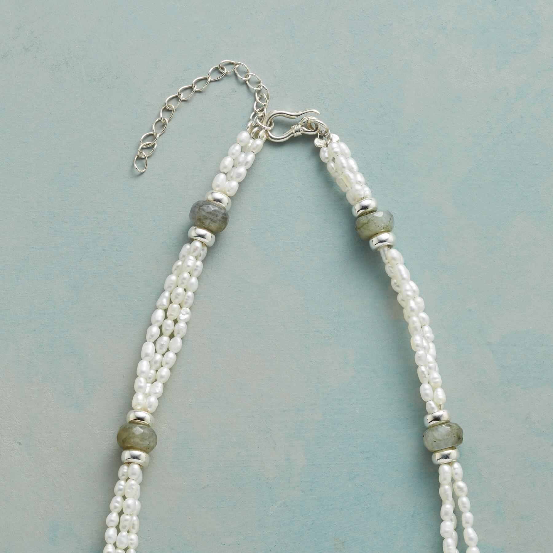 TRIPLE VISION PEARL NECKLACE: View 3