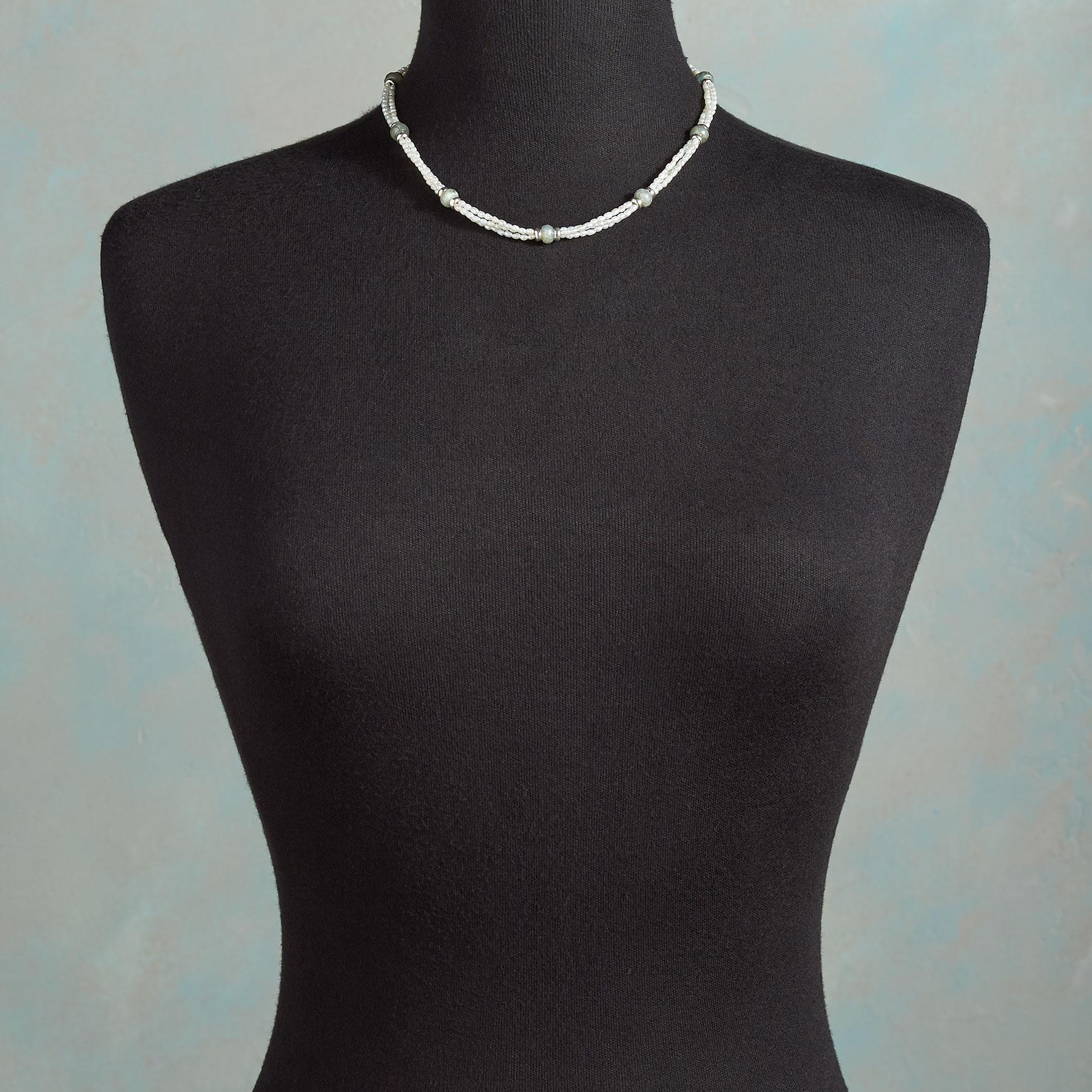TRIPLE VISION PEARL NECKLACE: View 4