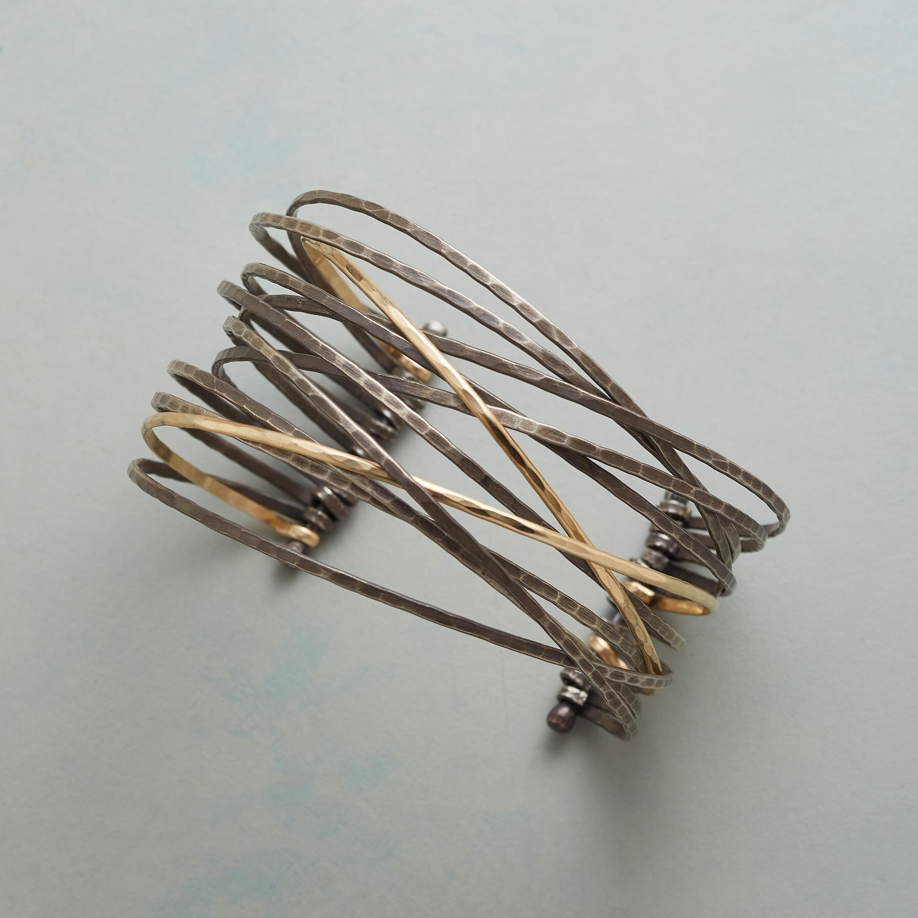 Foliage Foldover Bracelet