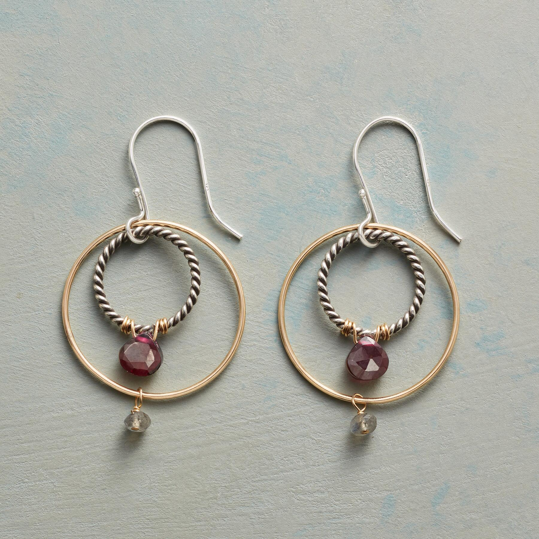 CIRCLE AROUND EARRINGS: View 1