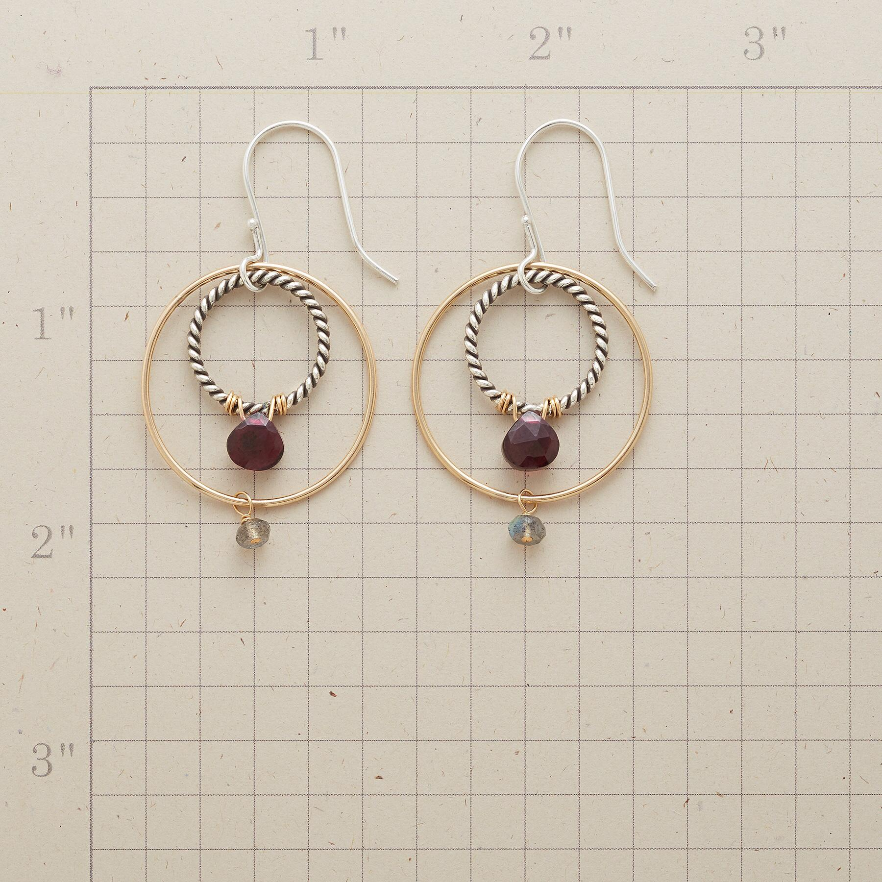 CIRCLE AROUND EARRINGS: View 2