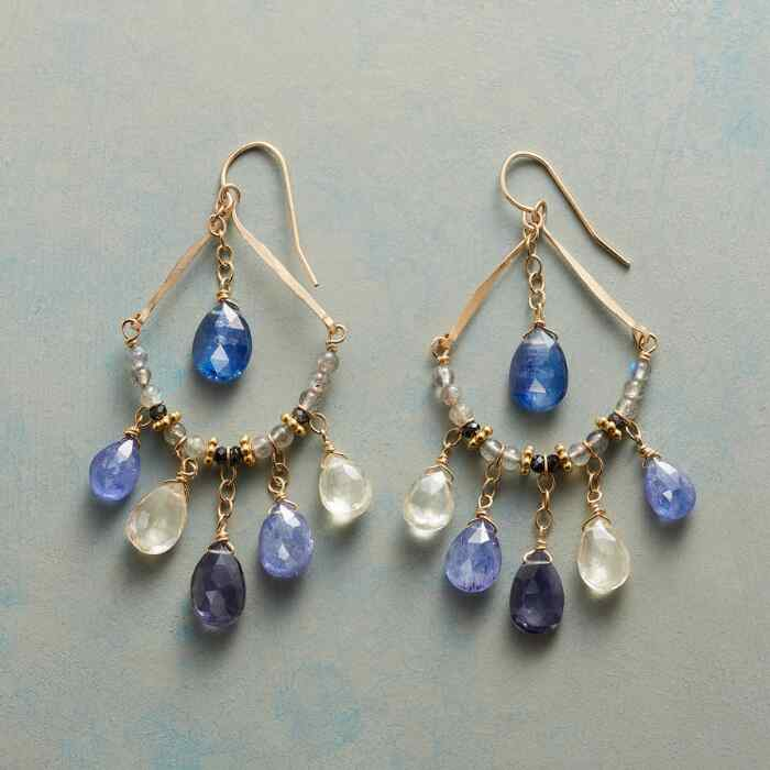 BLUE MIST EARRINGS