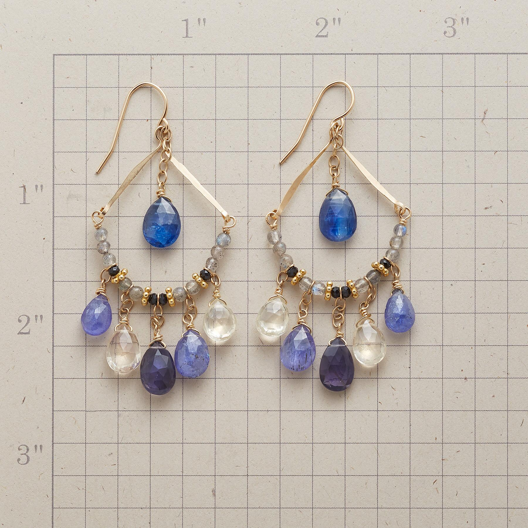 BLUE MIST EARRINGS: View 2