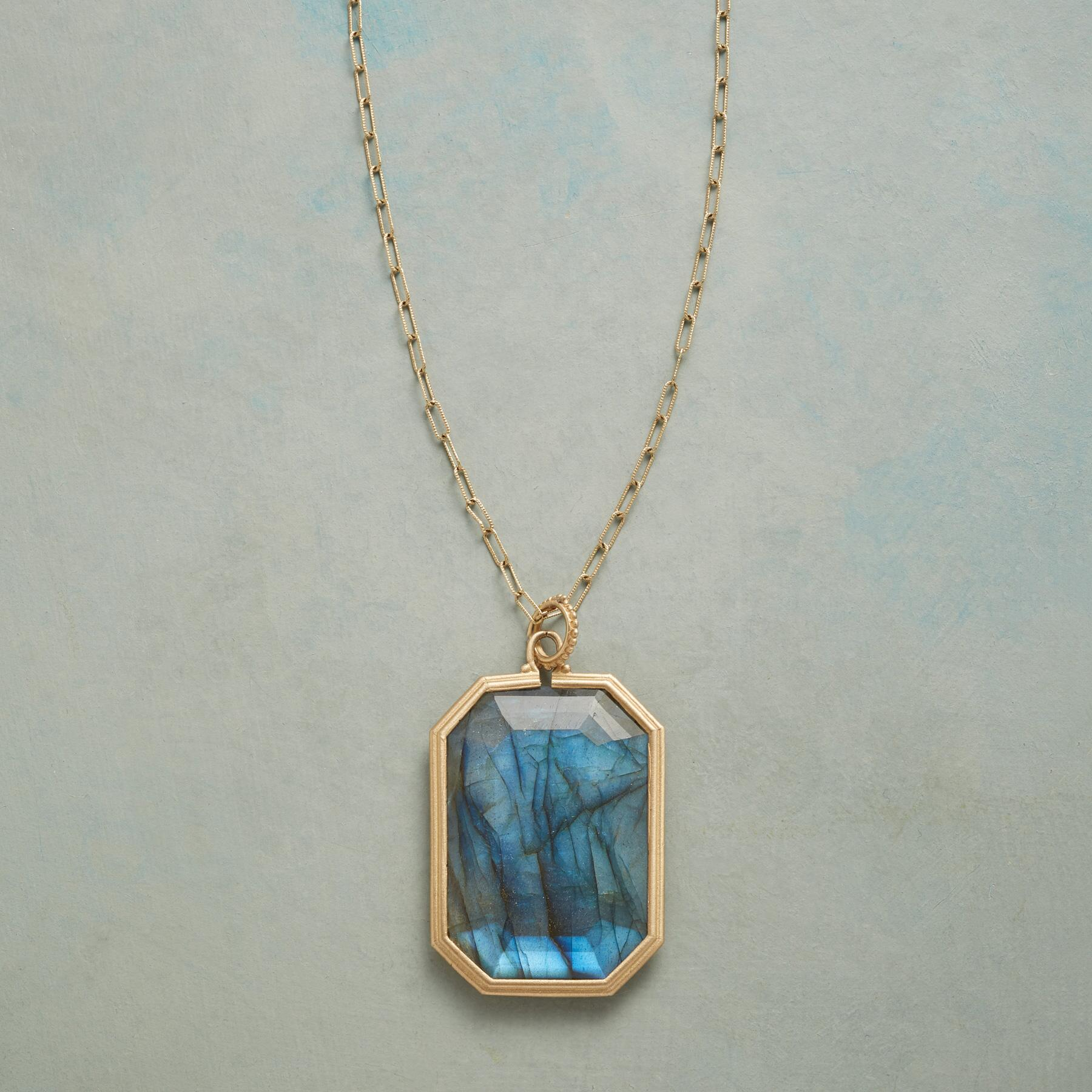 LUCKY IN LABRADORITE NECKLACE: View 1