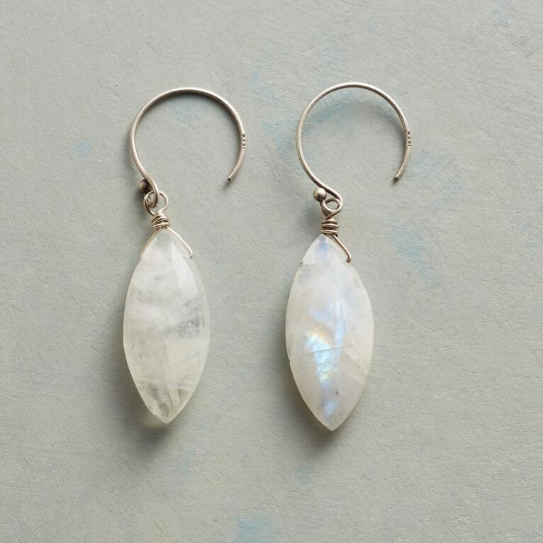 DOVE'S FEATHER EARRINGS
