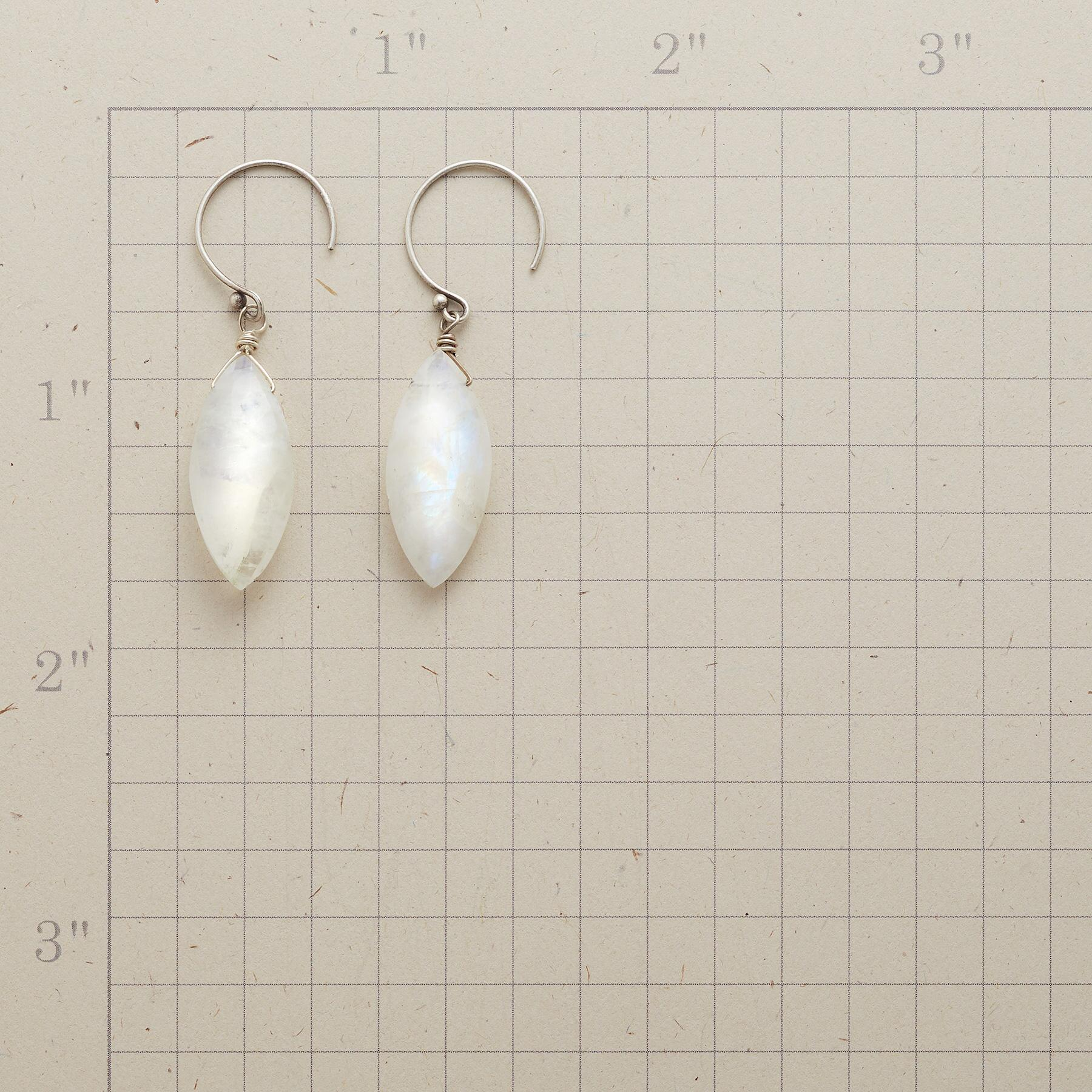 DOVE'S FEATHER EARRINGS: View 2