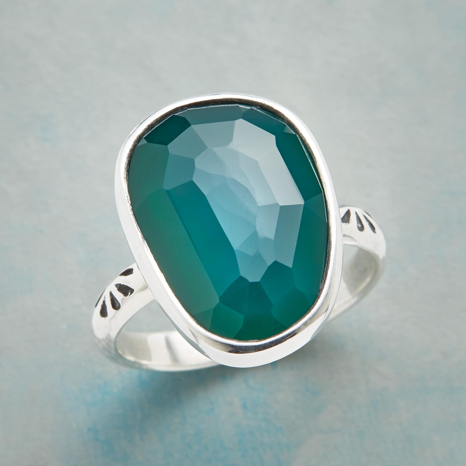 GREEN ENVY RING: View 1