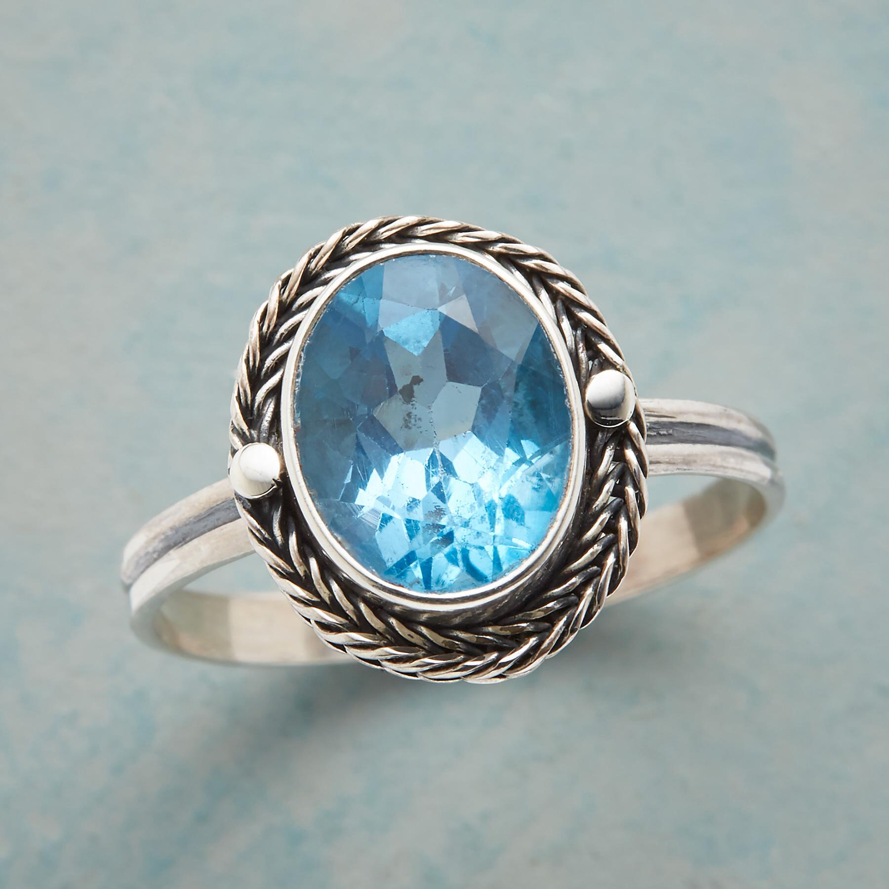 WREATHED SHORELINE RING: View 1