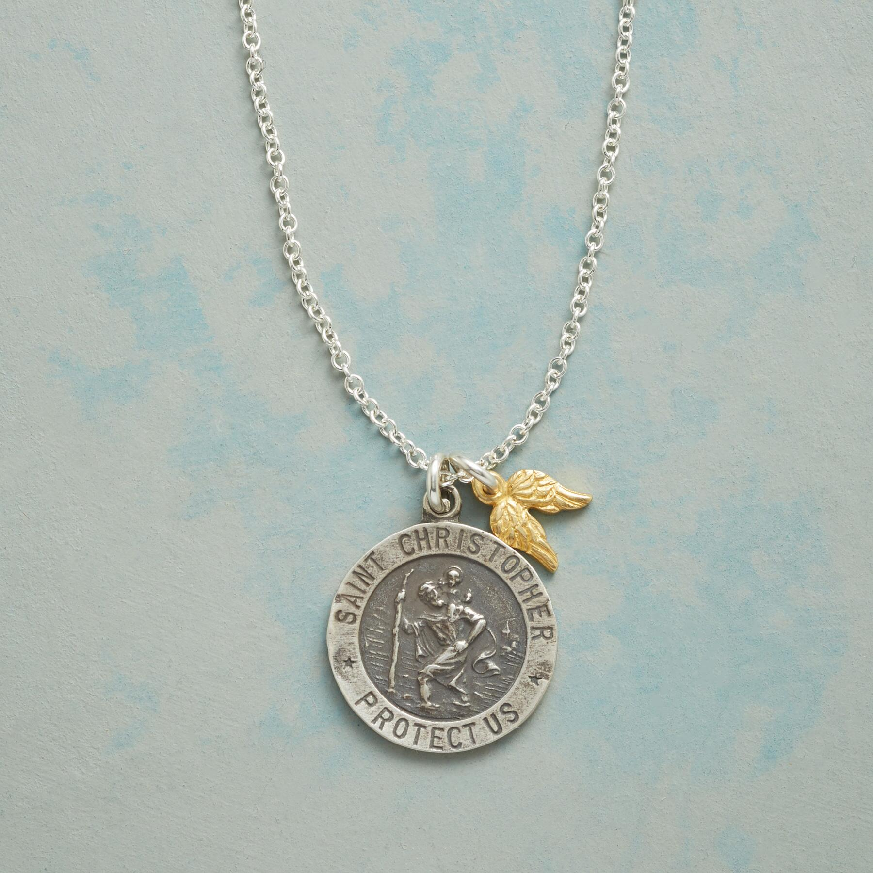 LOVE & PROTECTION CHARM NECKLACE: View 1