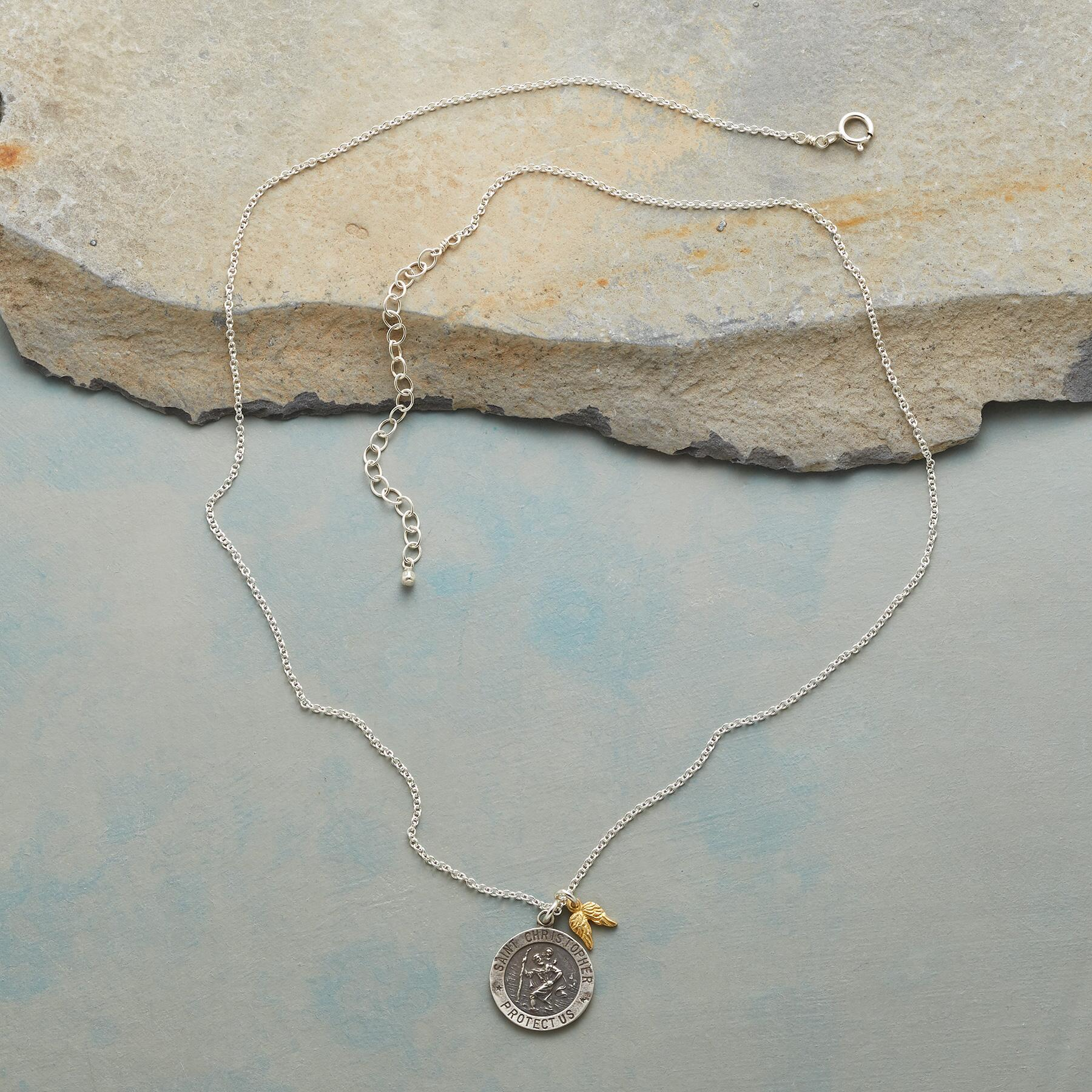 LOVE & PROTECTION CHARM NECKLACE: View 2