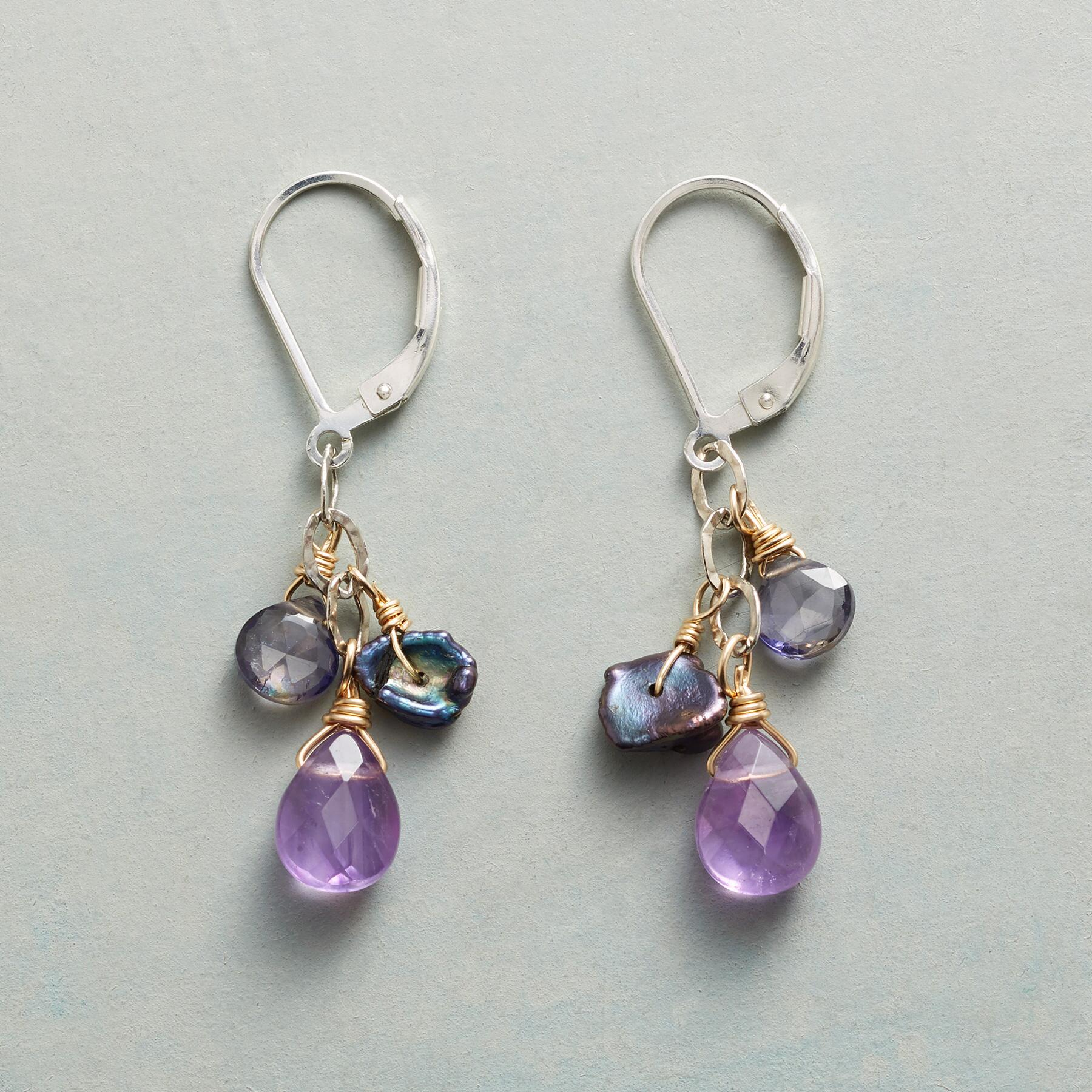 MIDNIGHT MYSTERY EARRINGS: View 1