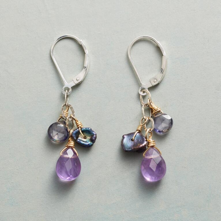 MIDNIGHT MYSTERY EARRINGS