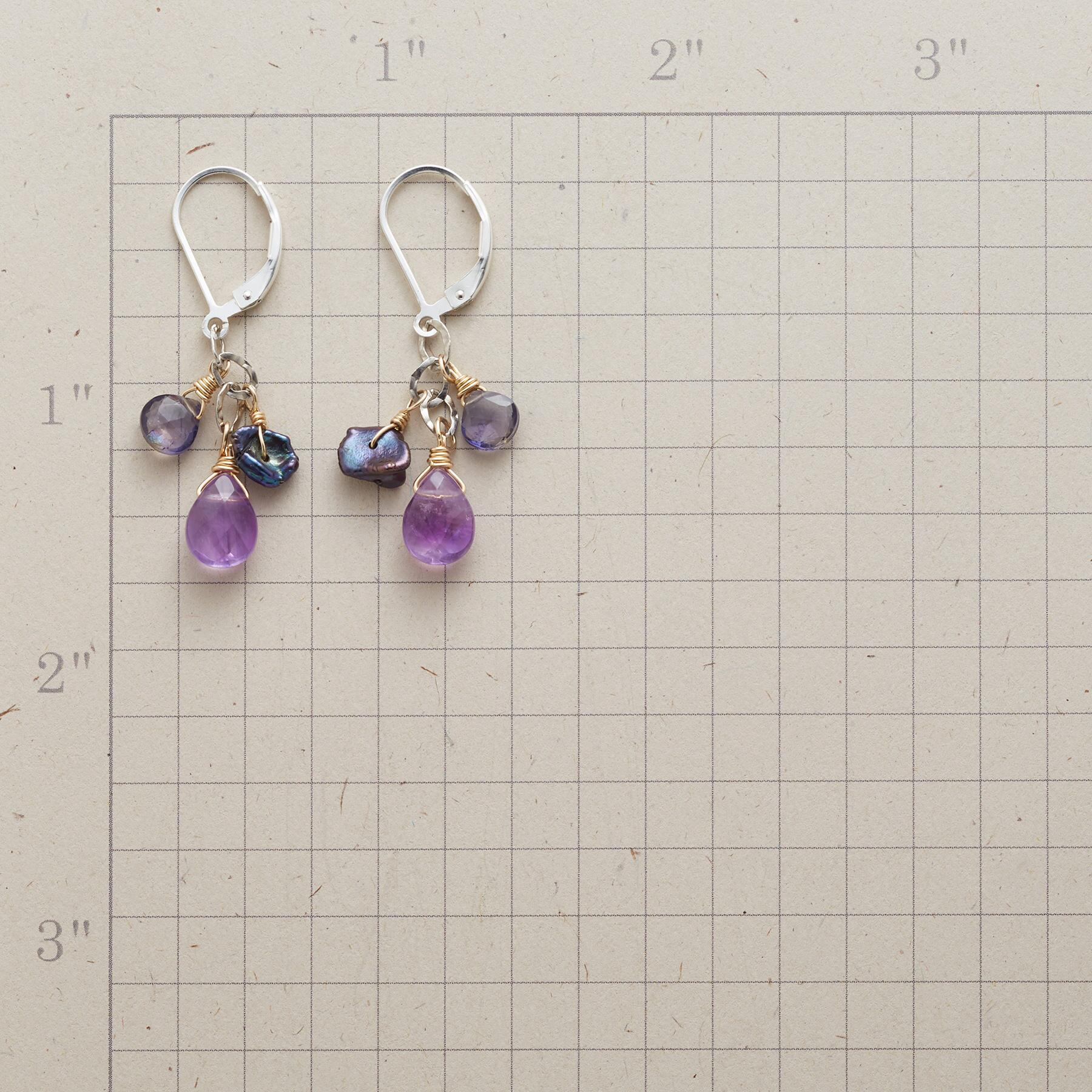 MIDNIGHT MYSTERY EARRINGS: View 2