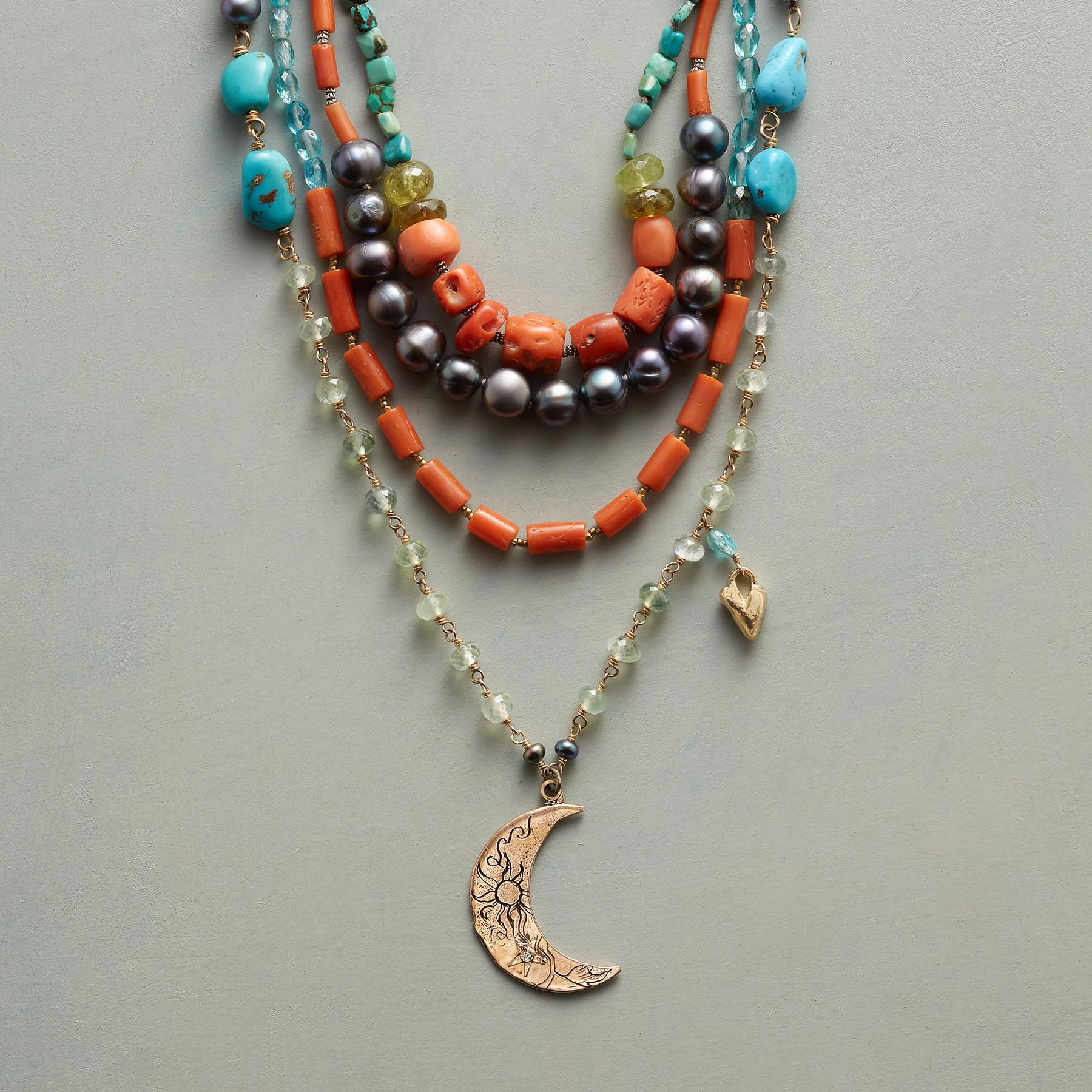 NEW MOON NECKLACE: View 1
