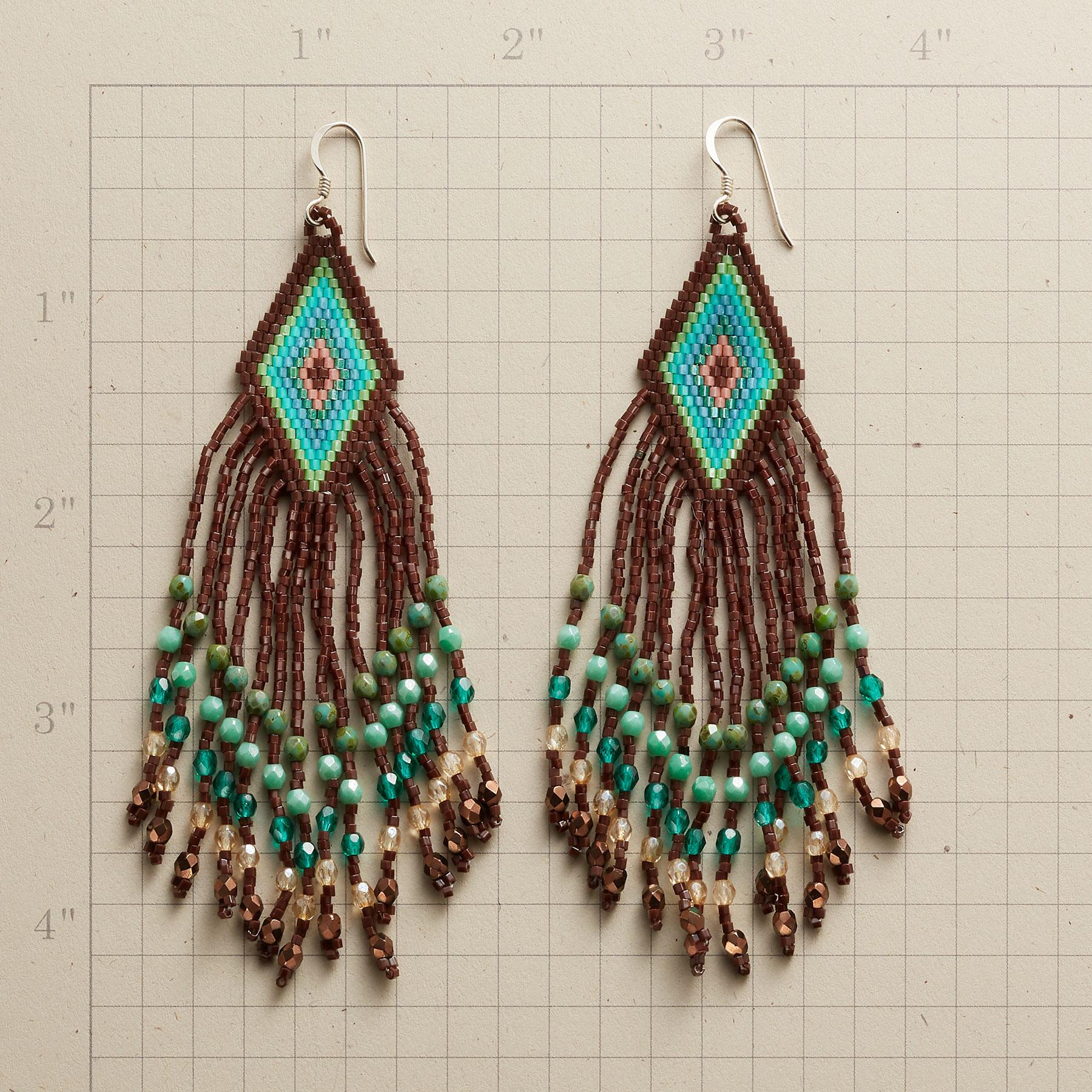 VIDA BEADED EARRINGS: View 2