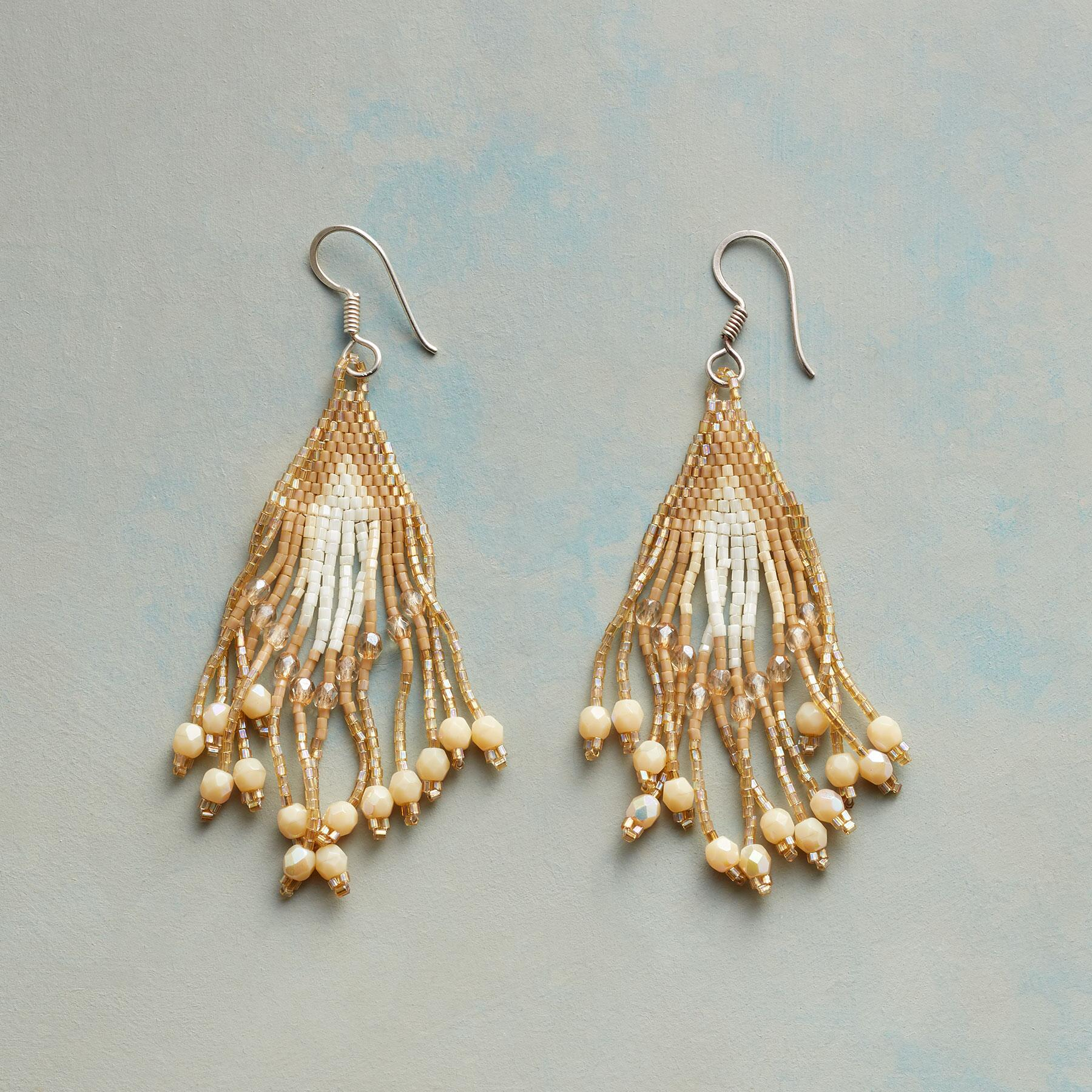 LUZ BEADED EARRINGS: View 1