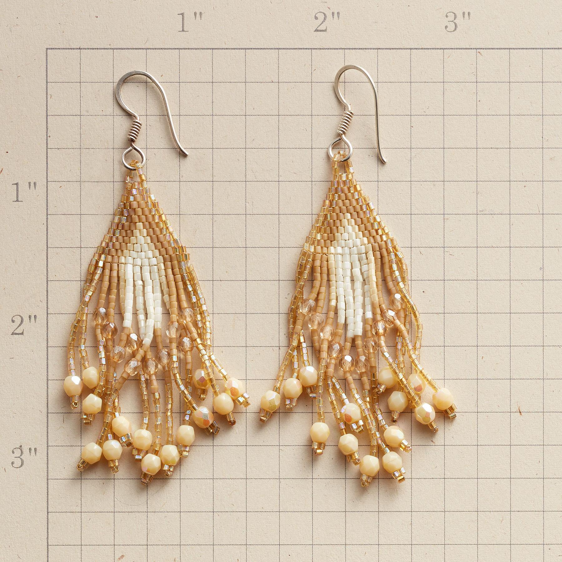 LUZ BEADED EARRINGS: View 2