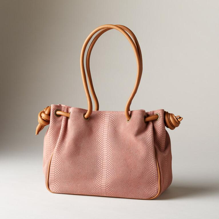 EMBOSSED POSITANO BAG