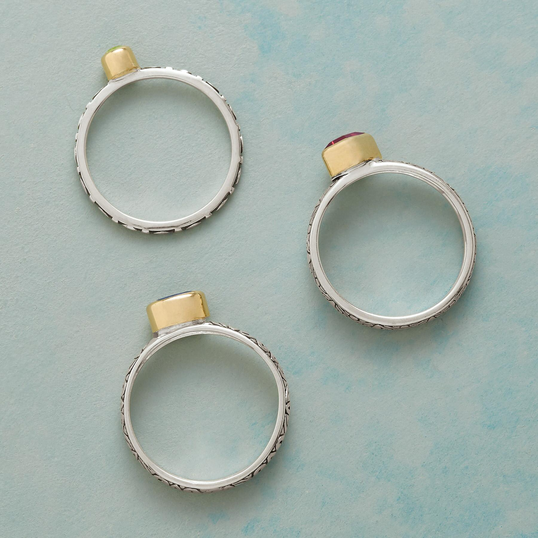 ROYAL TRIO RINGS, SET OF 3: View 2